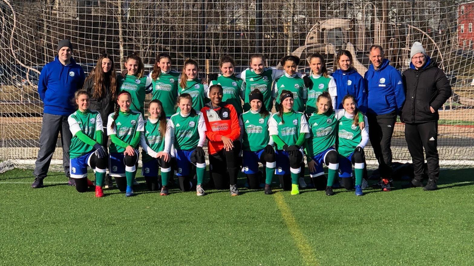 Olympiques soccer U-15AAA