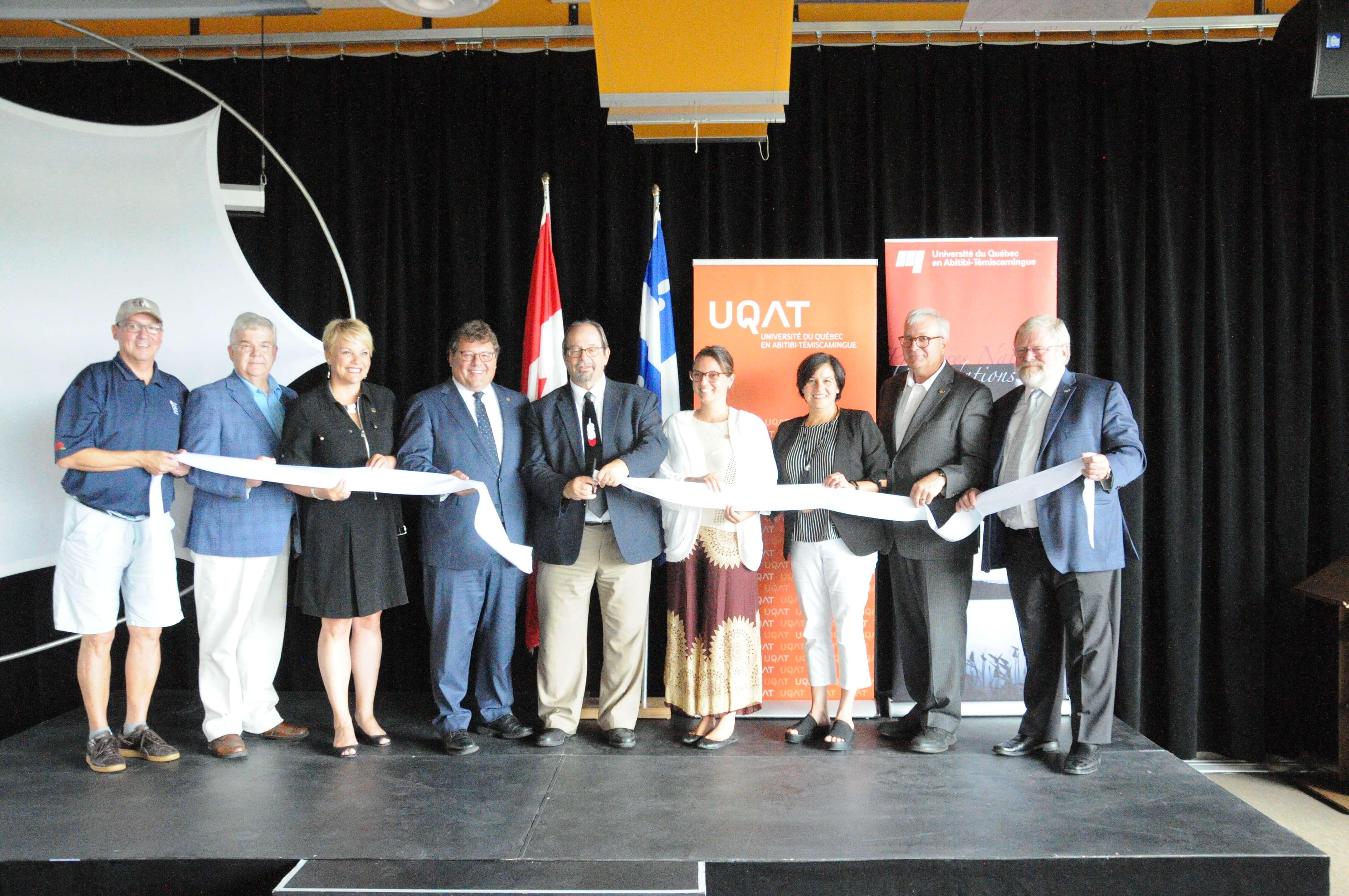 L'UQAT inaugure son nouveau Pavillon des Premiers-Peuples