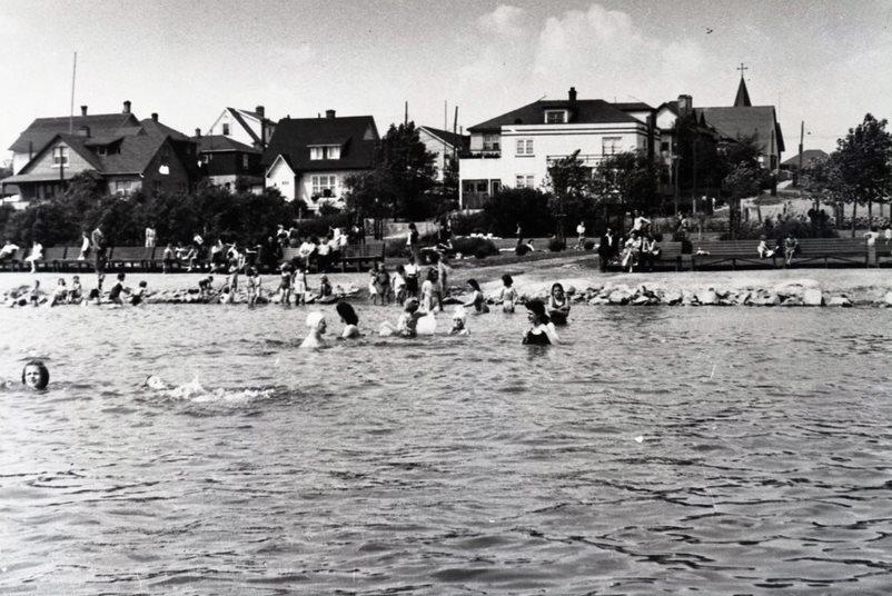 Lac plage Osisko 1943 Rouyn-Noranda