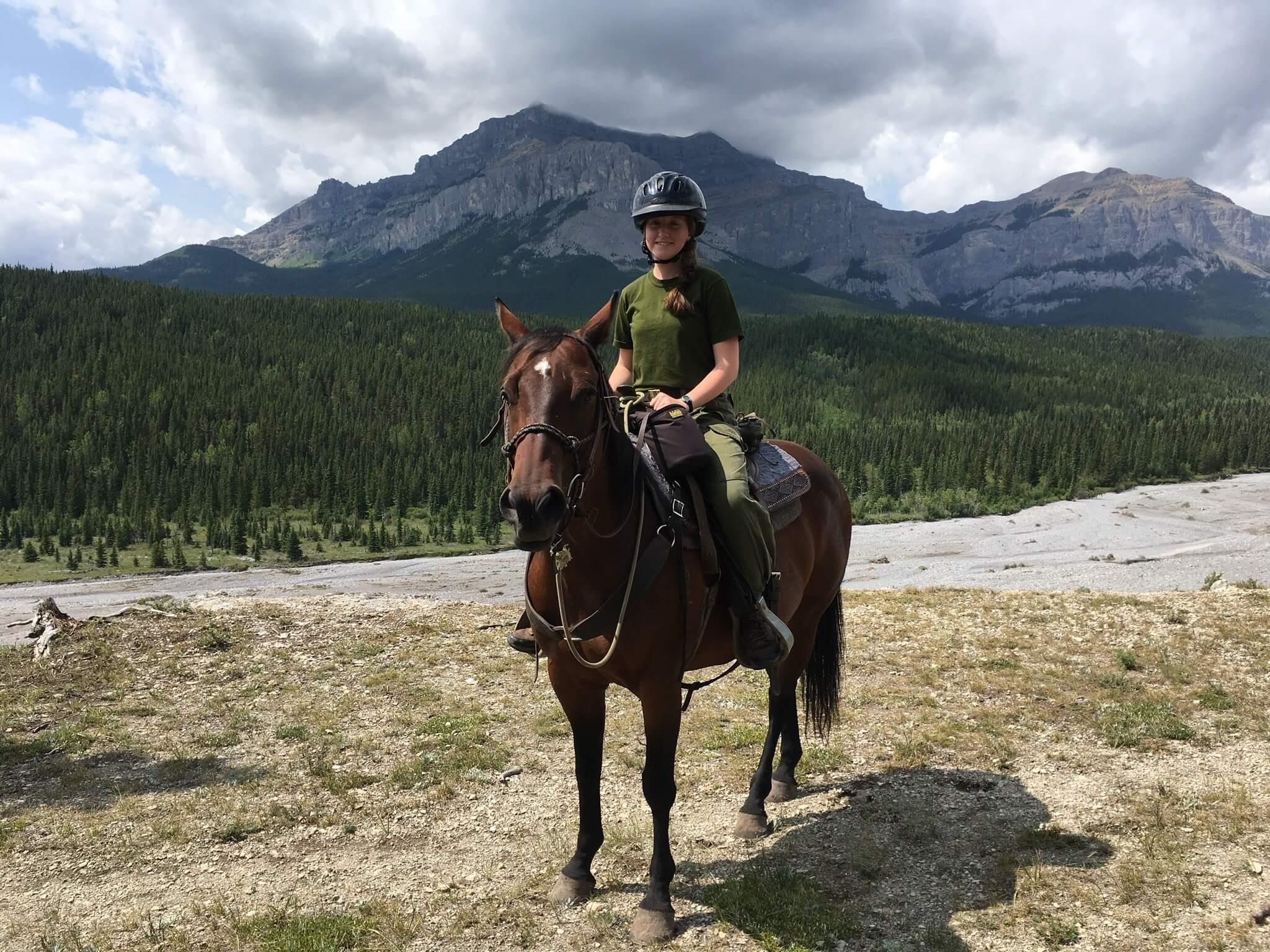 Ariane Chalifoux cheval