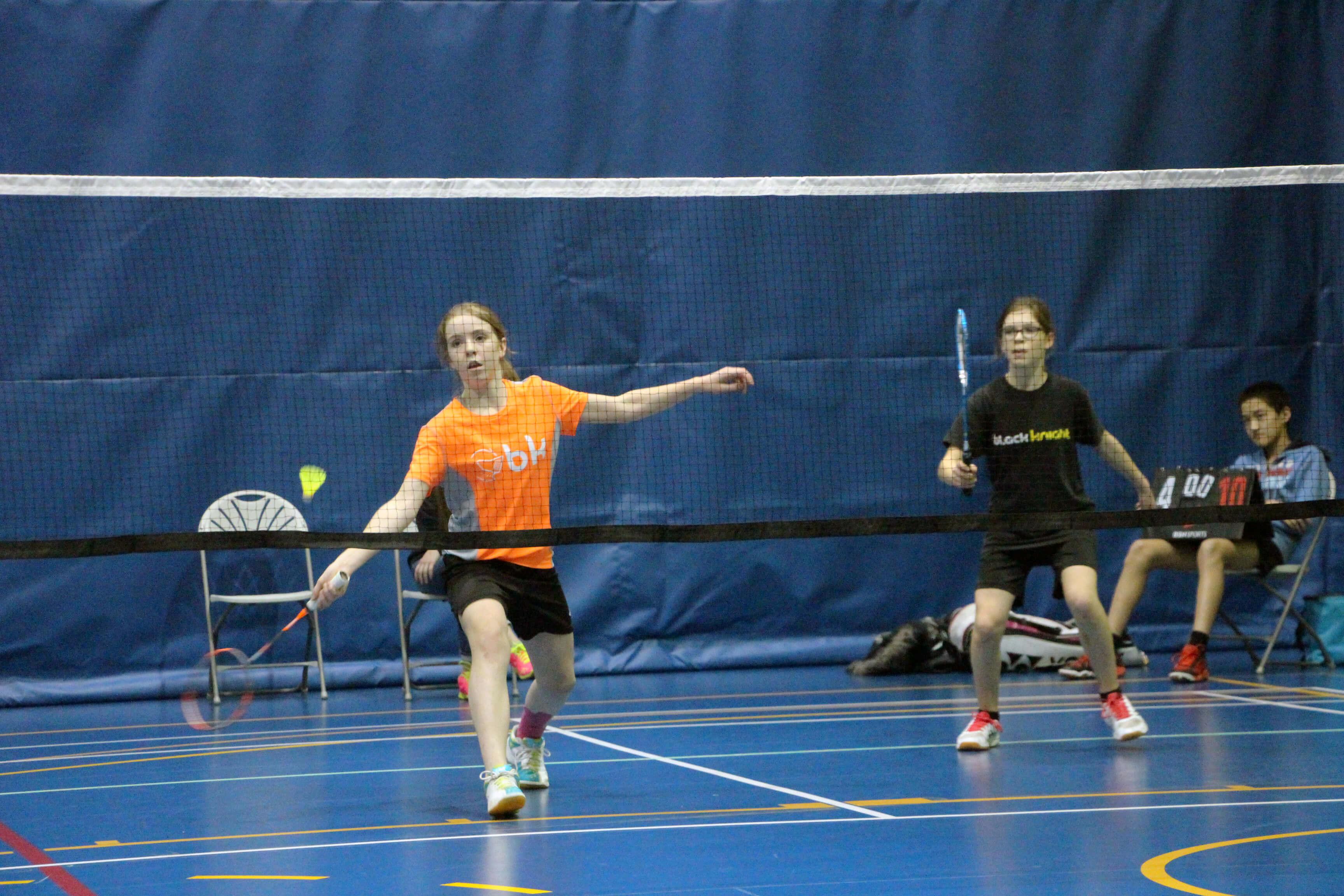 Mélina Bouchard Sara Prince Badminton Noranda