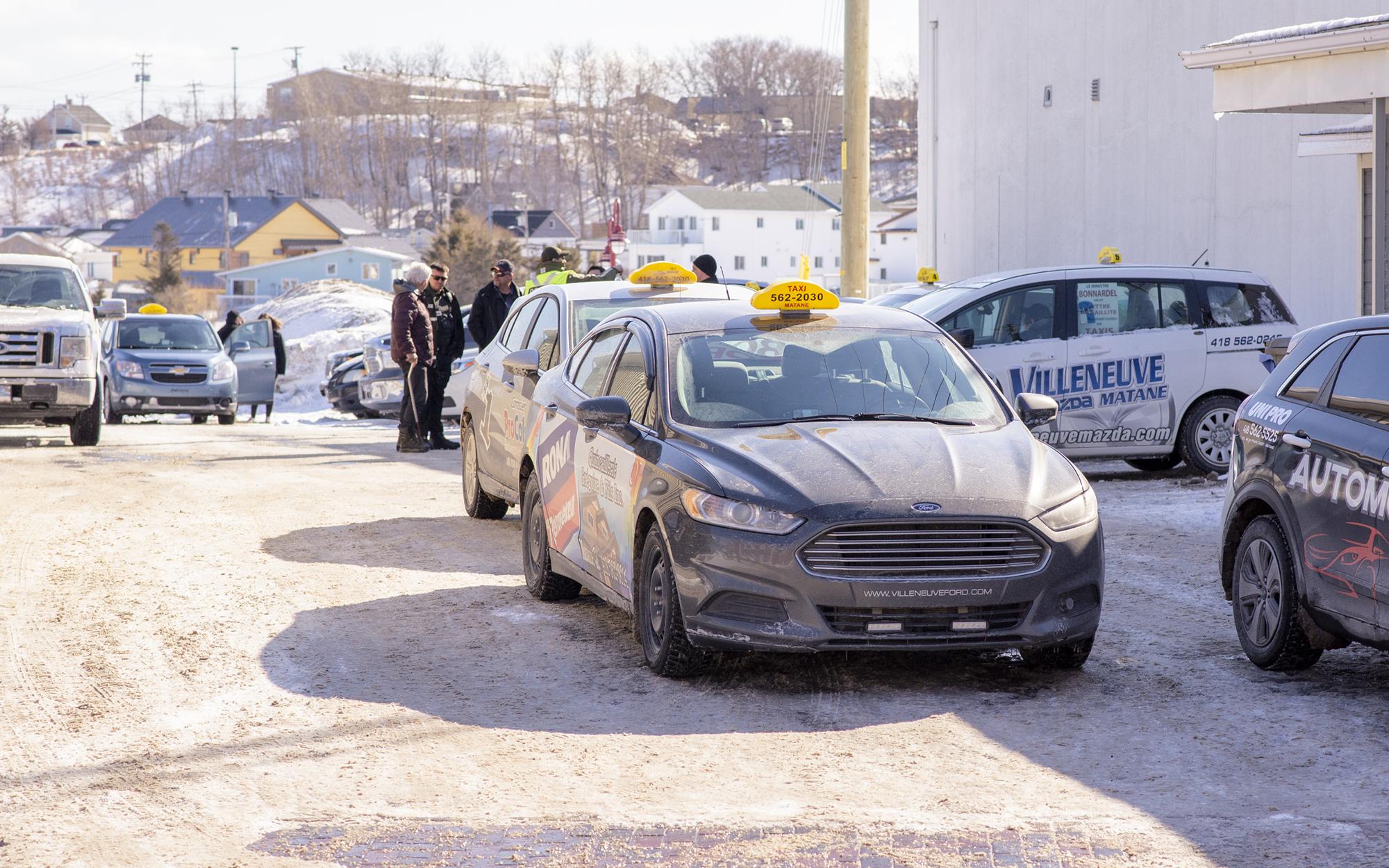 Grève taxis Matane