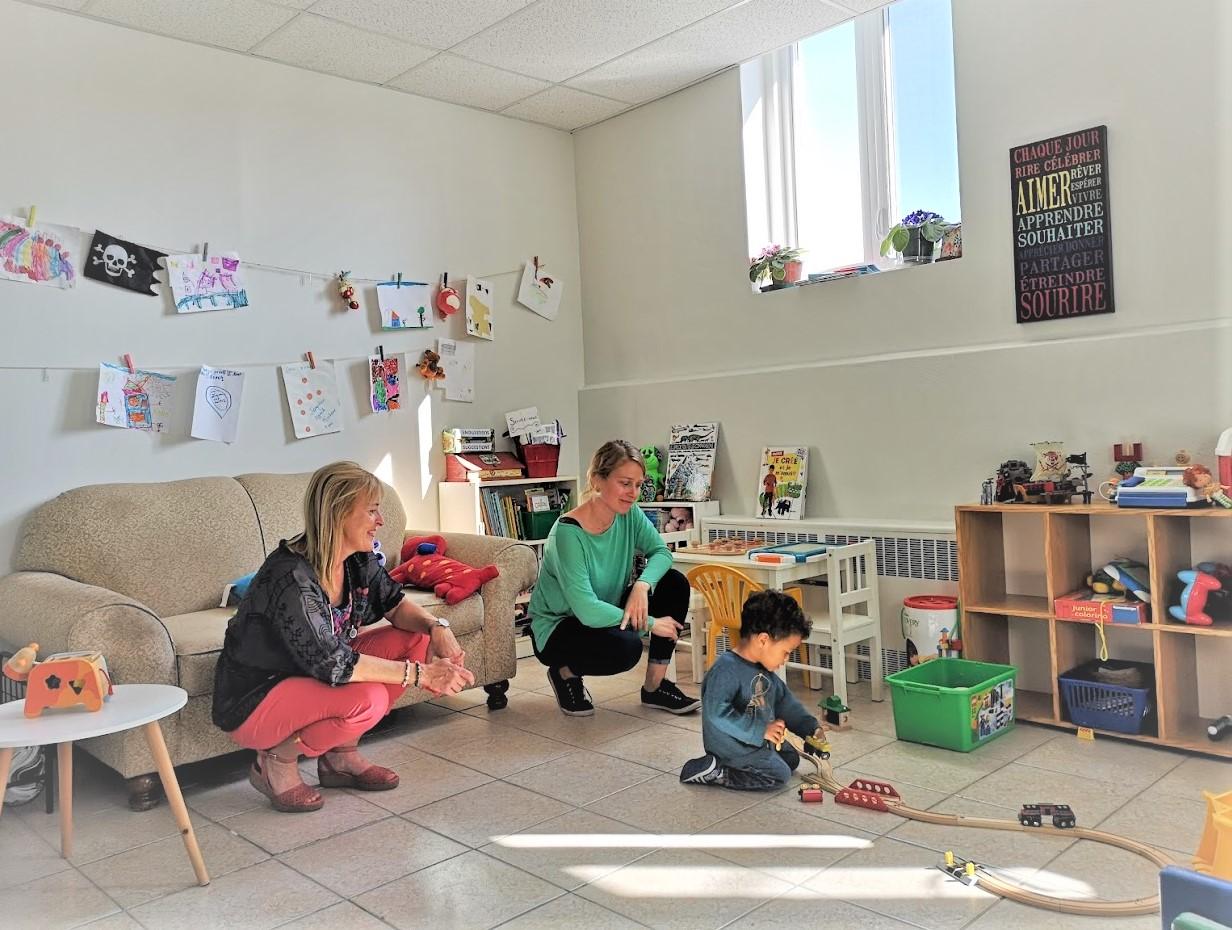 Le Centre de pédiatrie sociale en communauté de Rimouski-Neigette est en place depuis un an et demi.