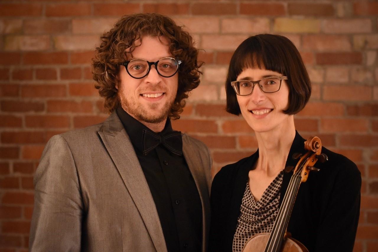 La violoniste Élise Lavoie et le pianiste Jérémie Pelletier.