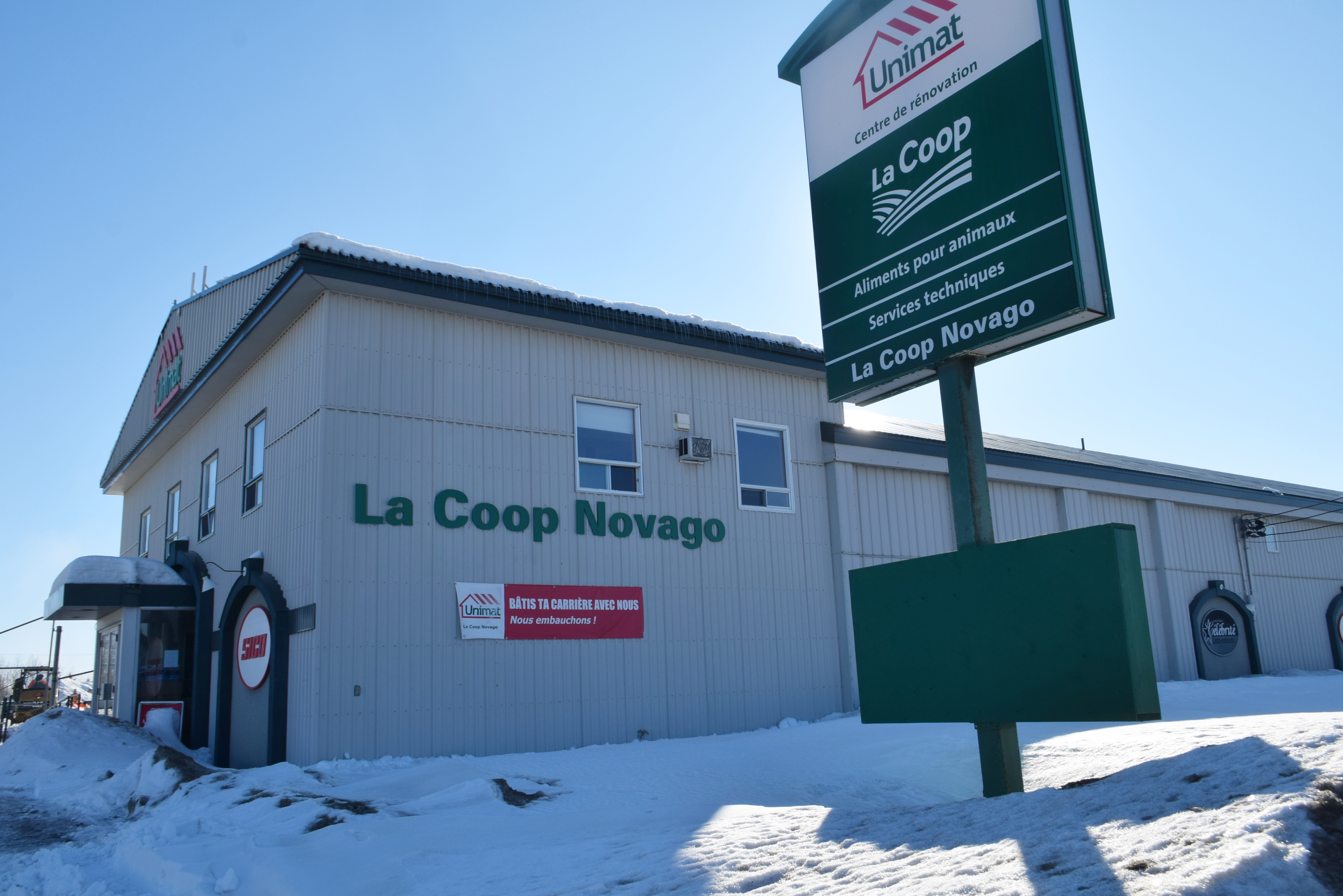 Coop Novago agricole Amos