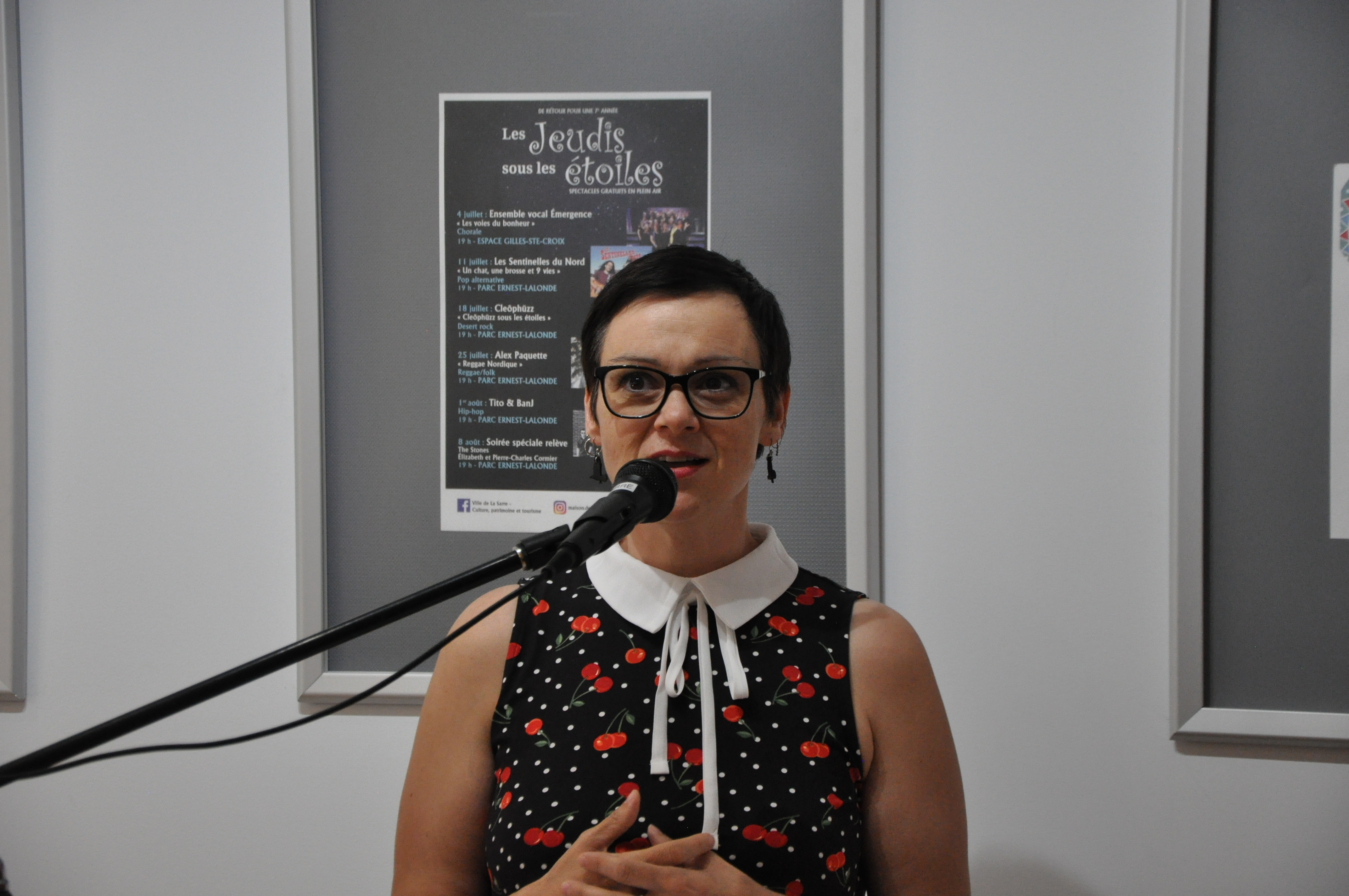 Sophie Royer culture la sarre