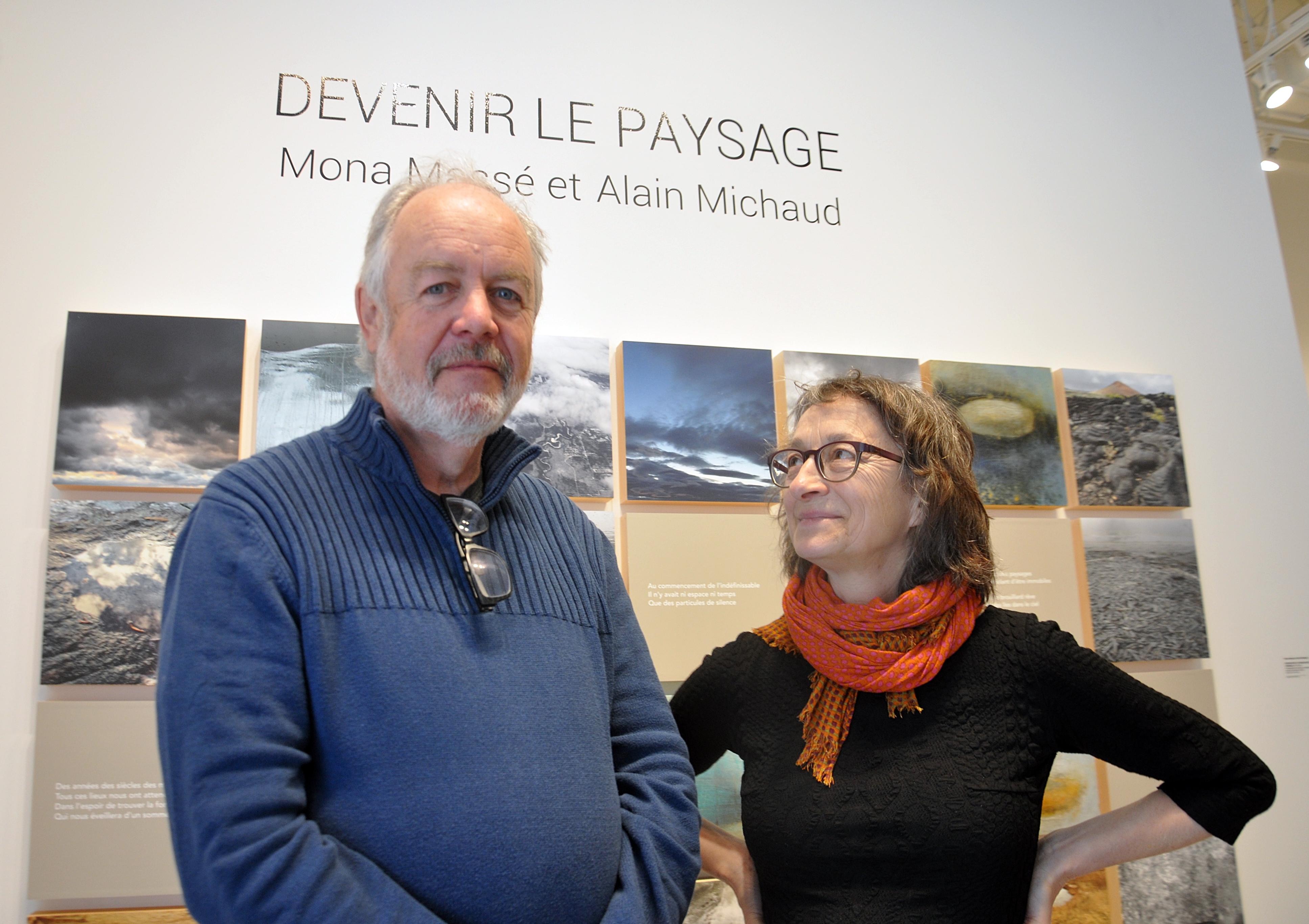 Alain Michaud et Mona Massé