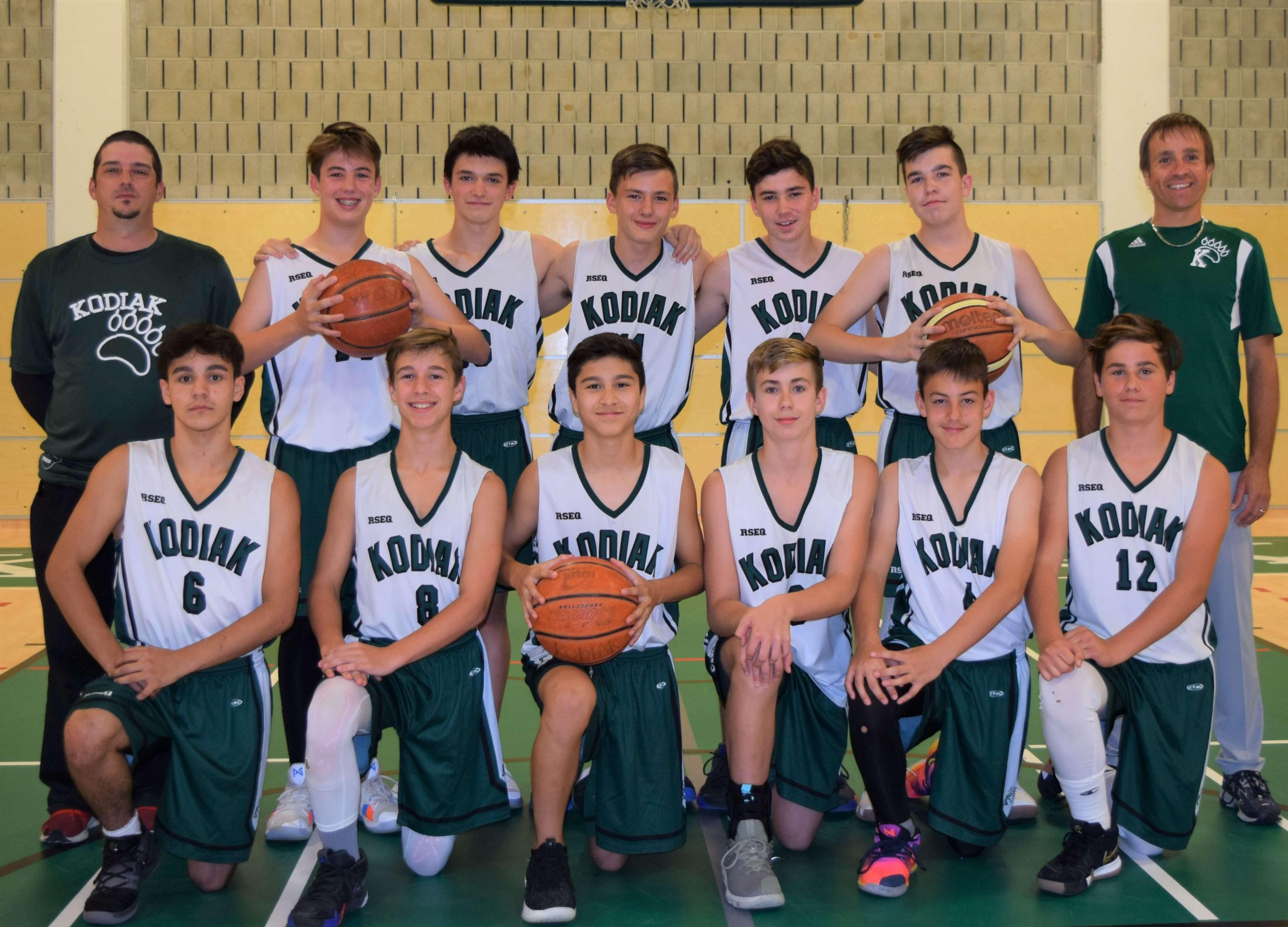 Kodiak basket cadets