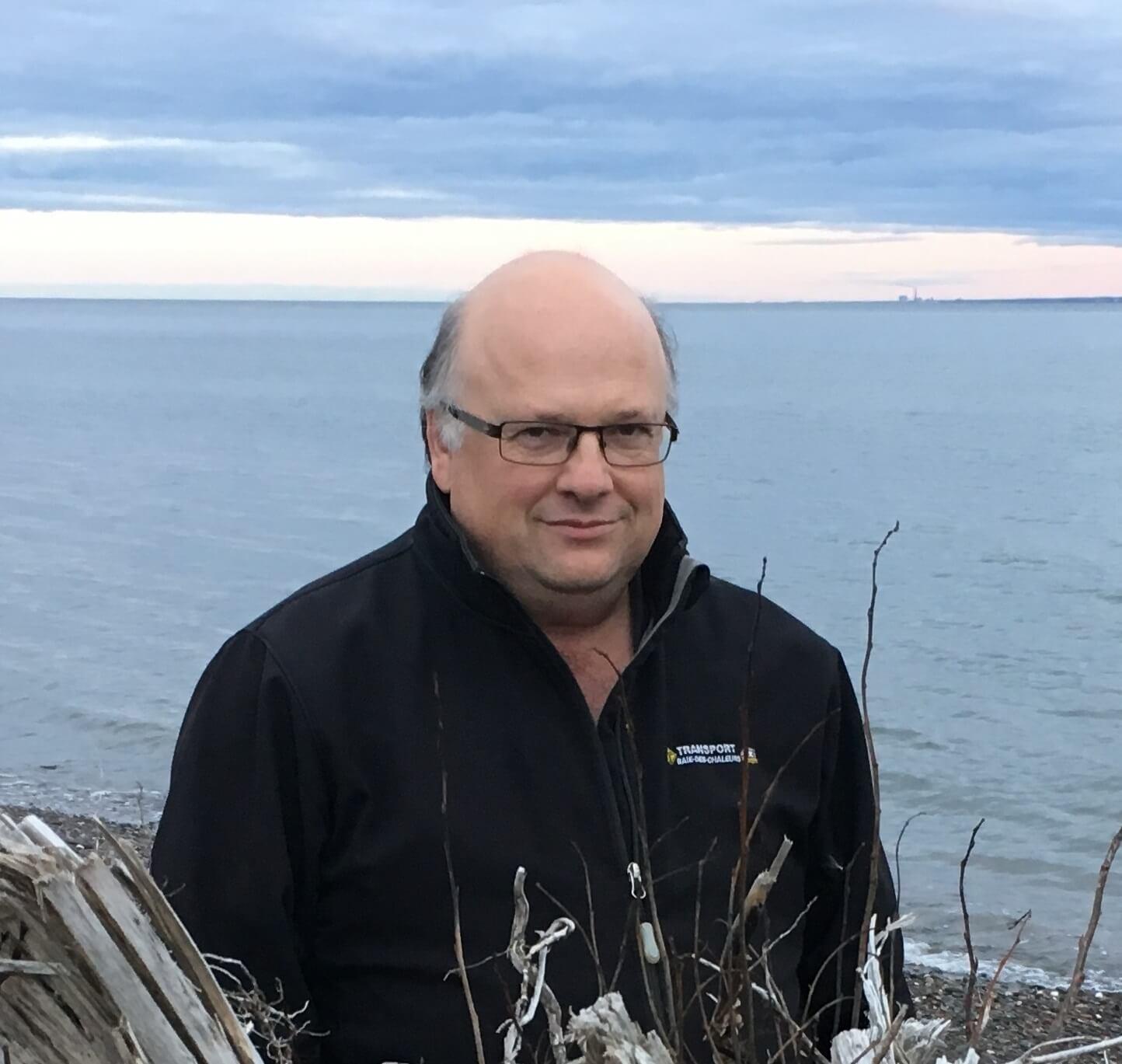 Gilles Pêlletier, président de Hockey Gaspésie