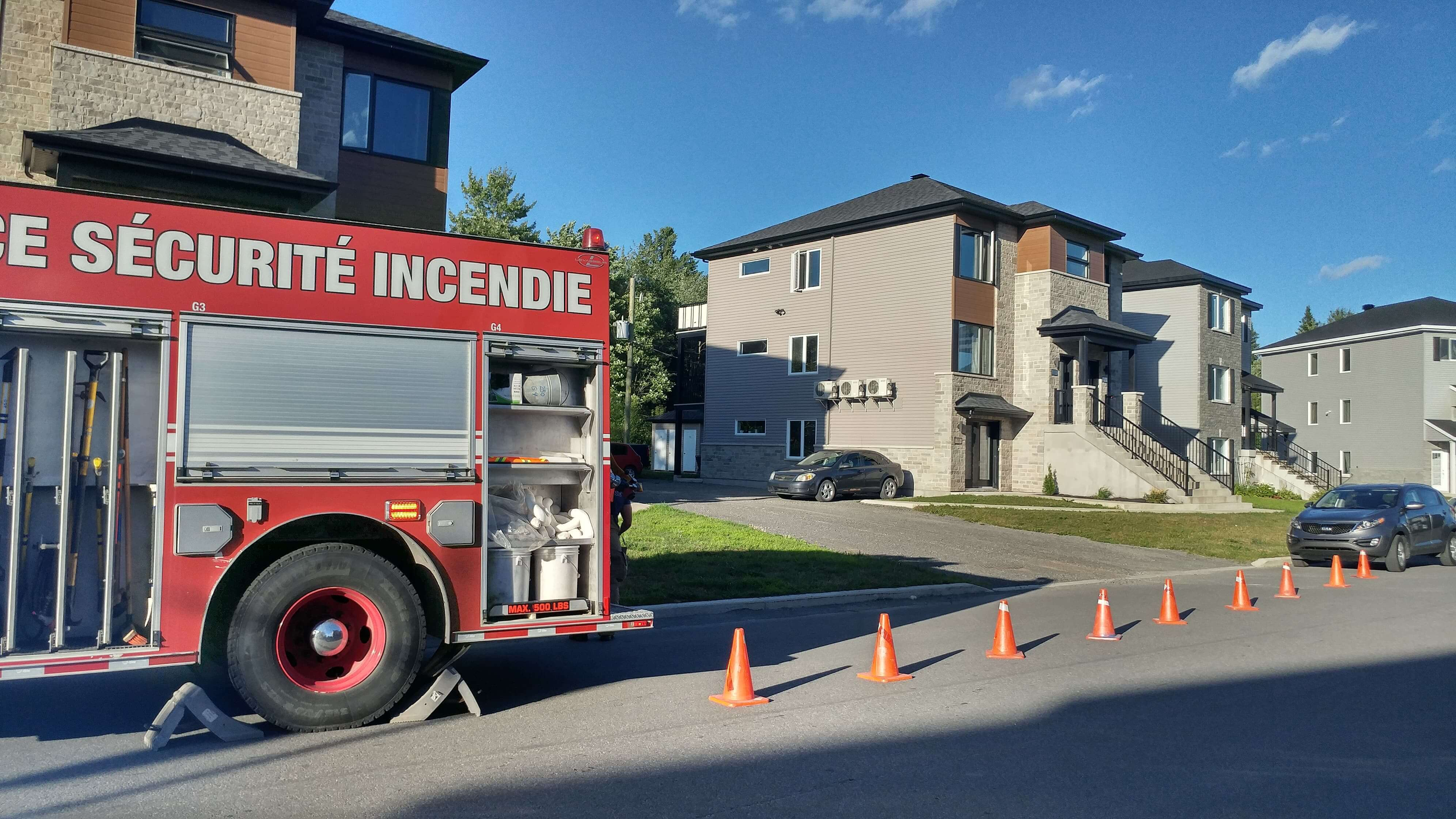 Incendie criminelle à Saint-Lin-Laurentides