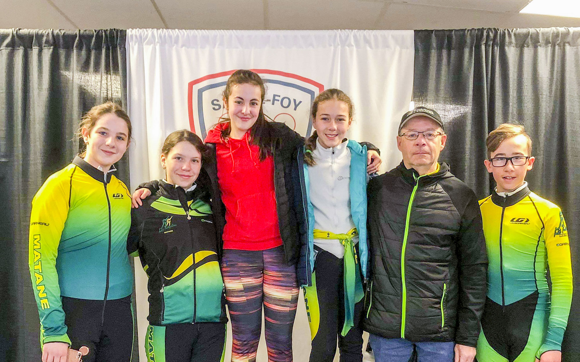 Club Rapidos de Matane patinage de vitesse