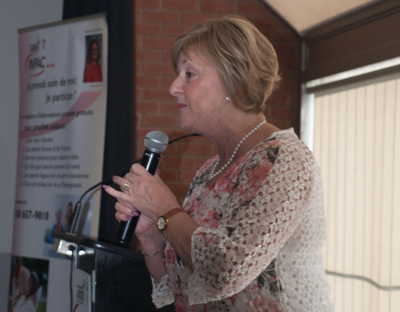 Claudette Dion Proches aidants