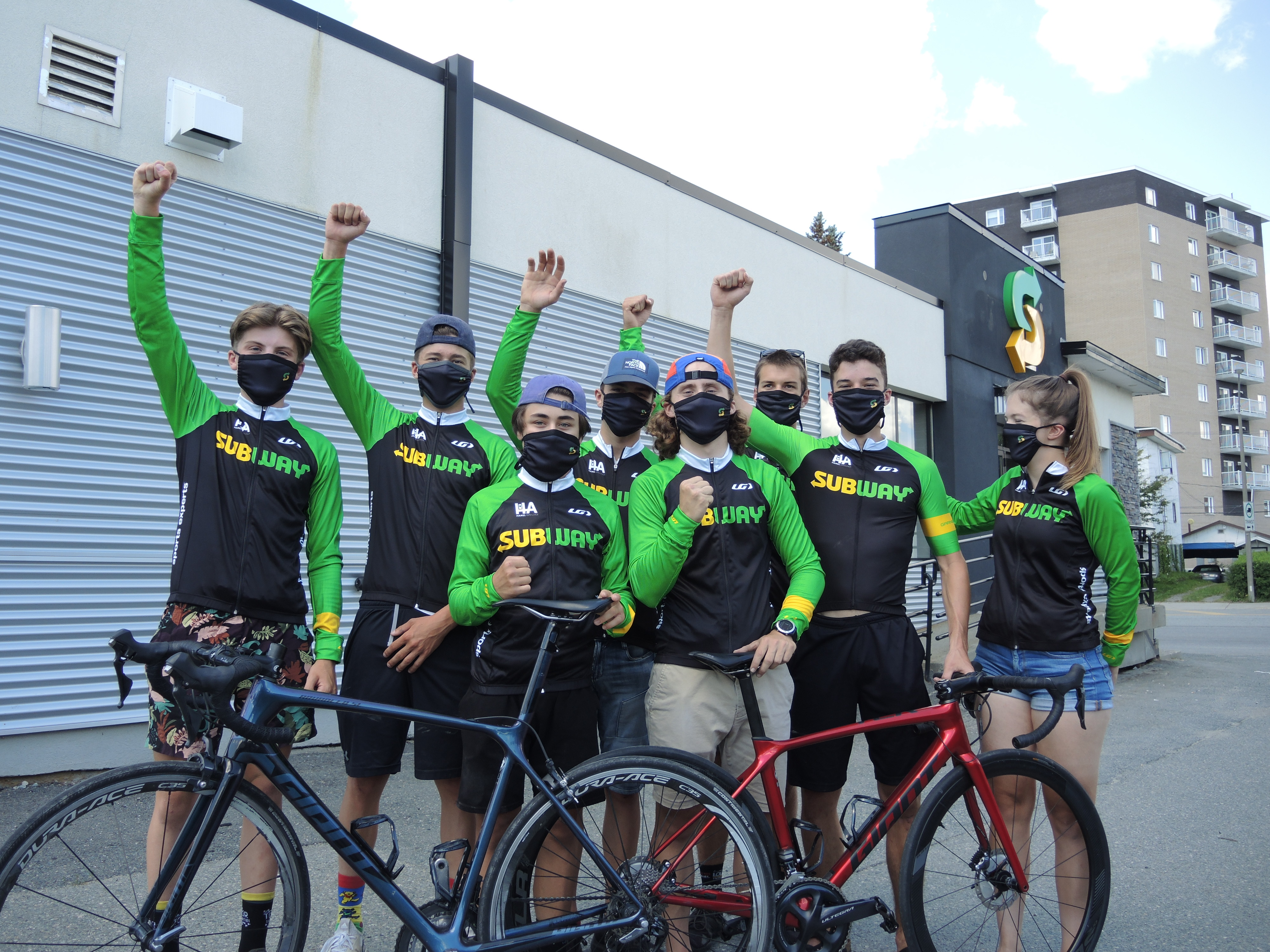 Équipe cycliste juinior Subway Abitibi Rouyn-Noranda