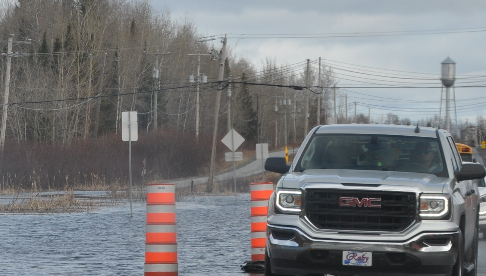 Inondation Route 111