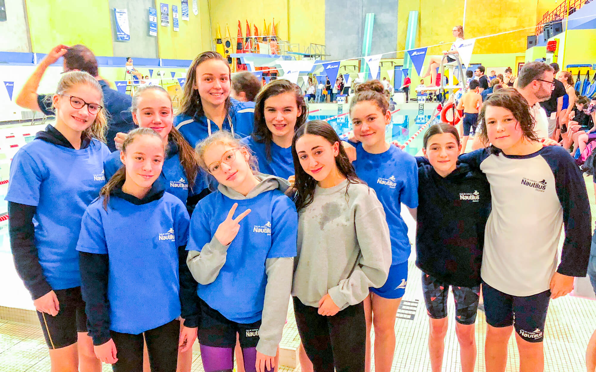 Nautilus de Matane compétition natation
