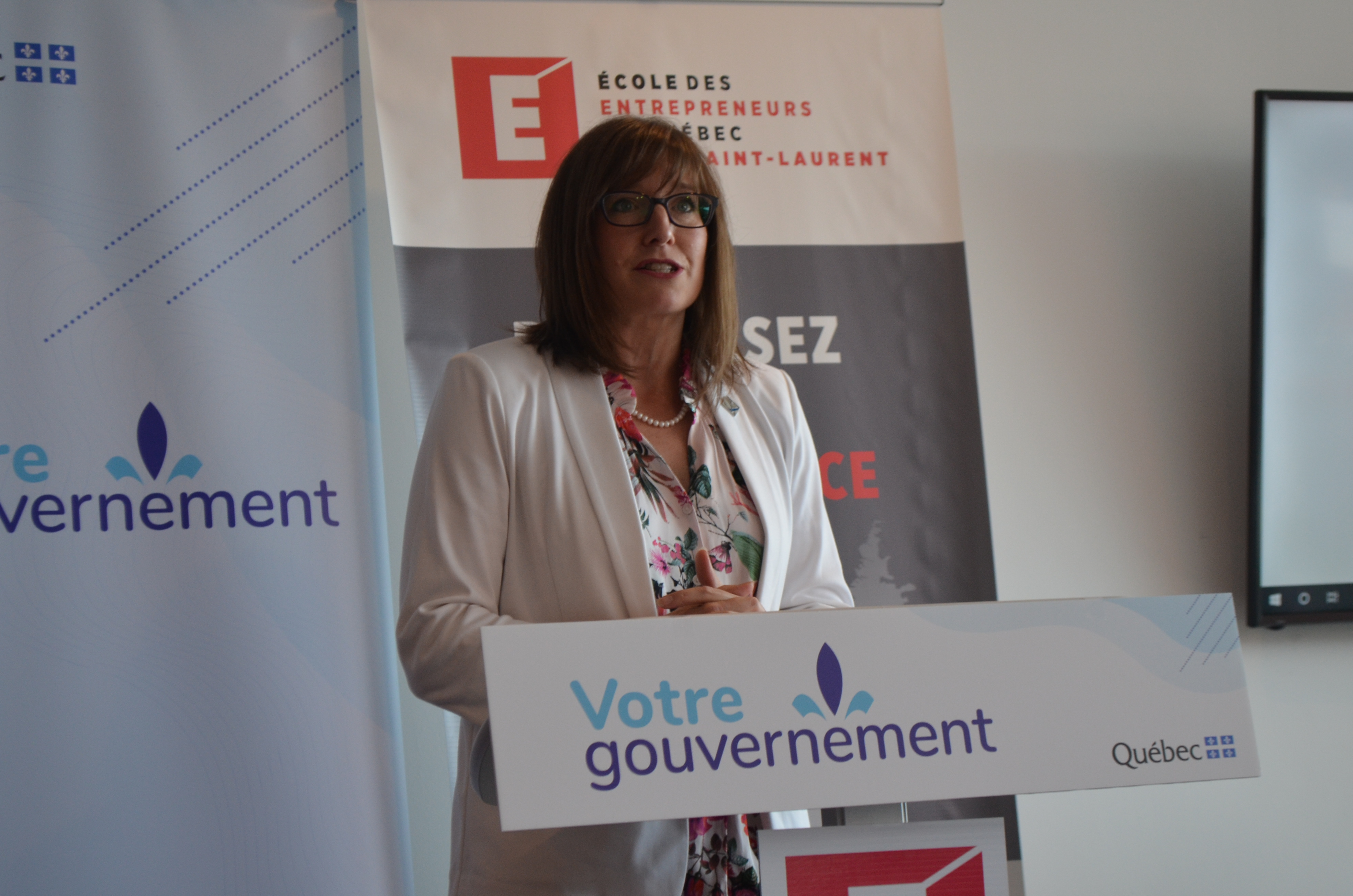 Marie-Eve Proulx, ministre déléguée au développement économique régional