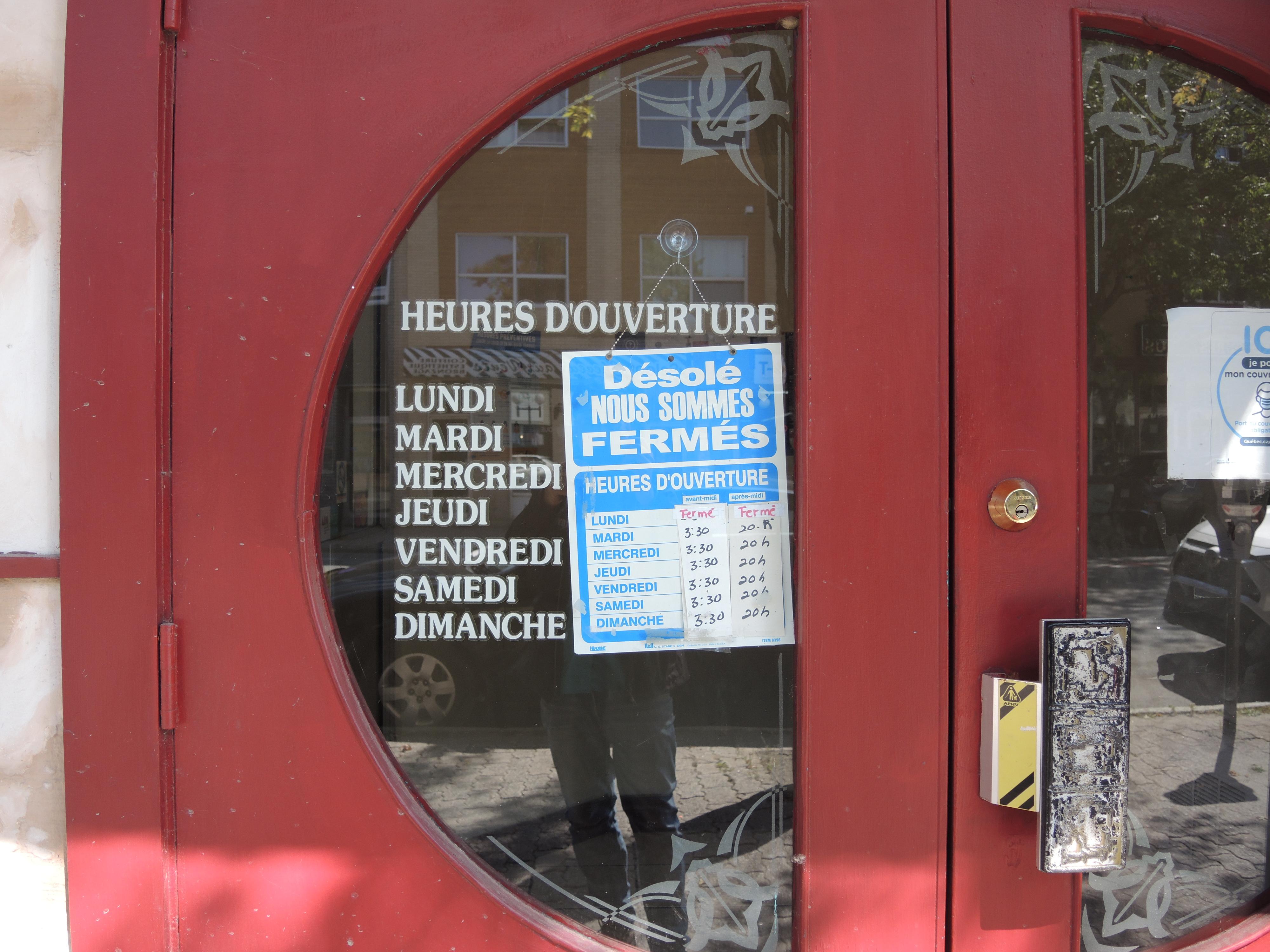 Restaurant Hao Van Heures réduites Rouyn-Noranda