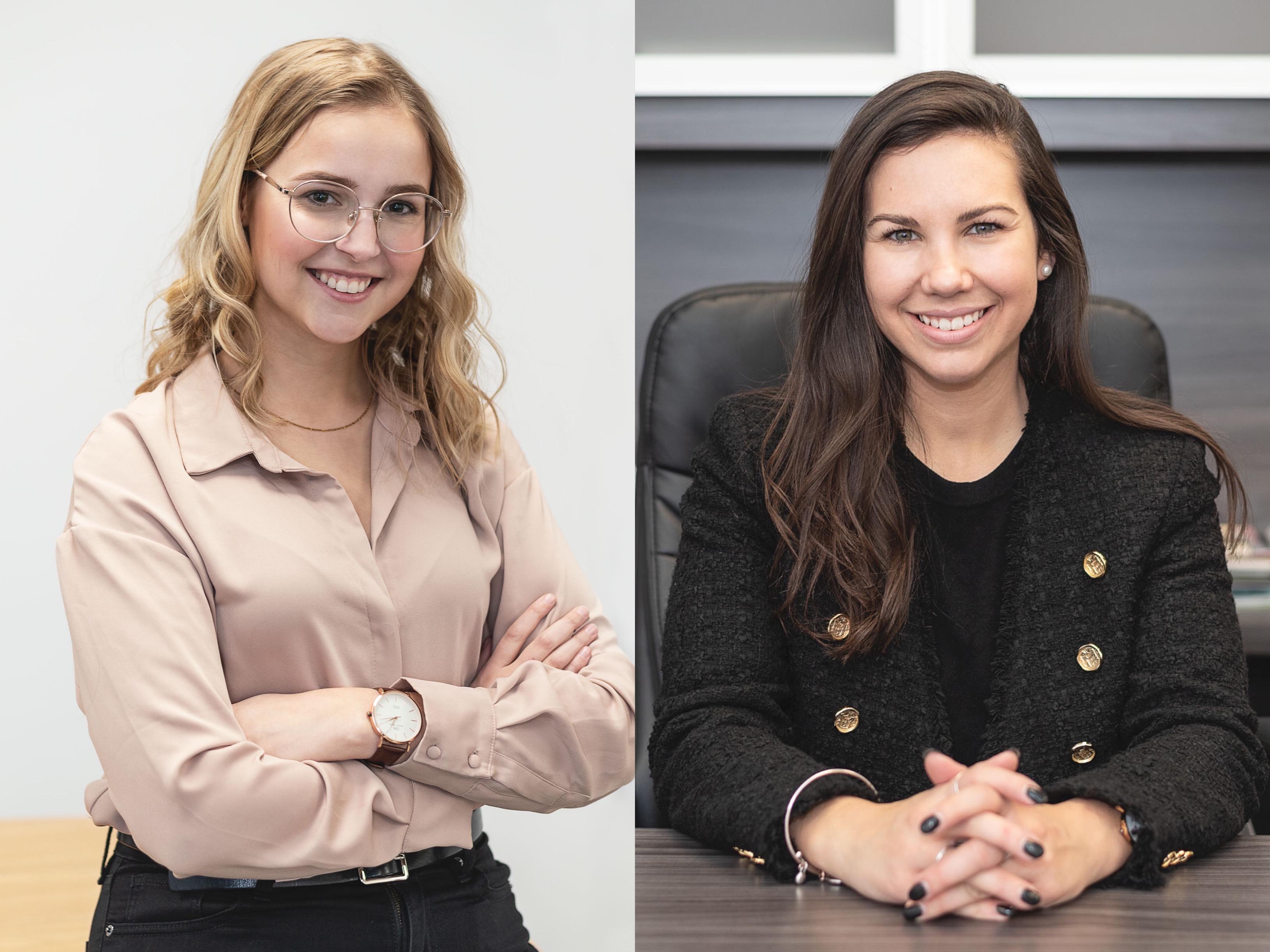 Ariane Francoeur et Kristina Michaud