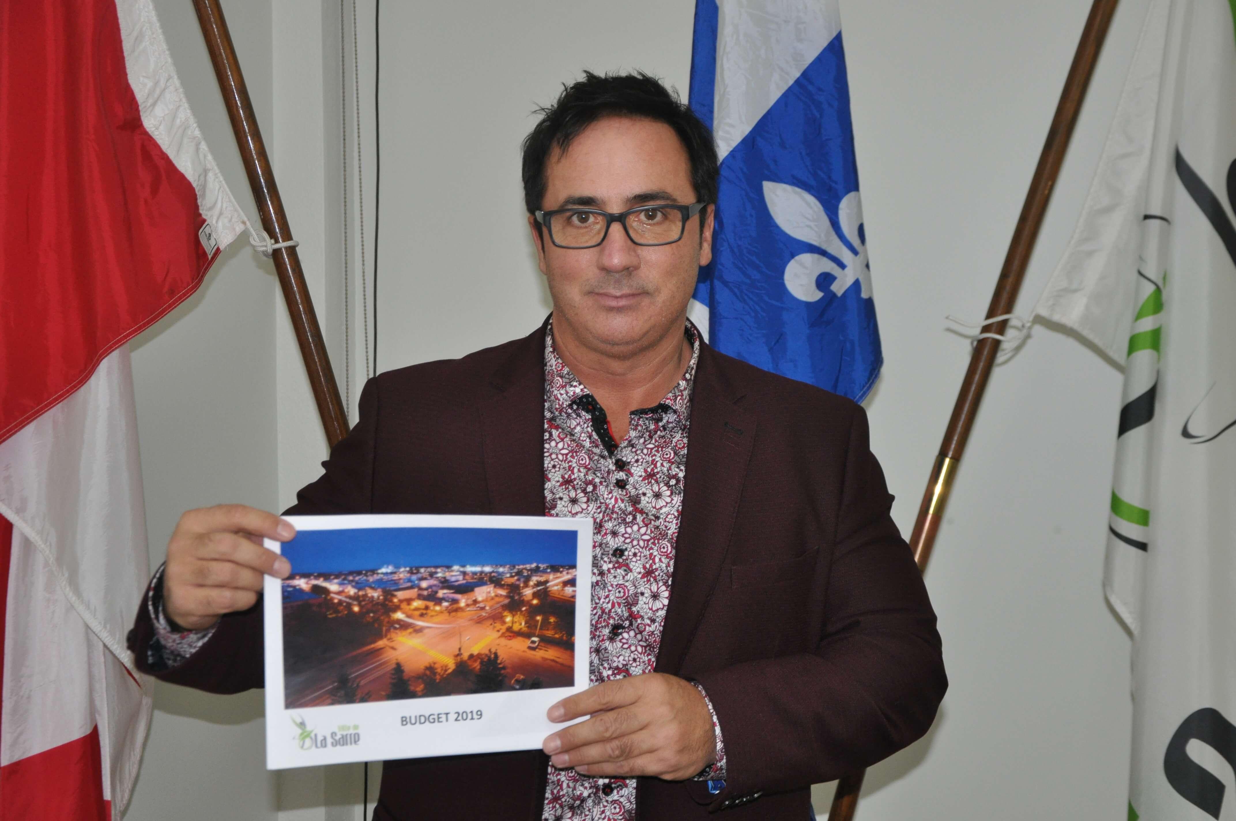 Budget La Sarre 2019, Yves Dubé