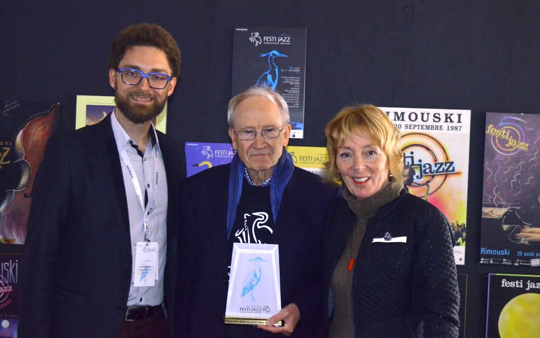 Jean-Pierre Roger mérite le Héron d'or 2019 du Festi Jazz international de Rimouski