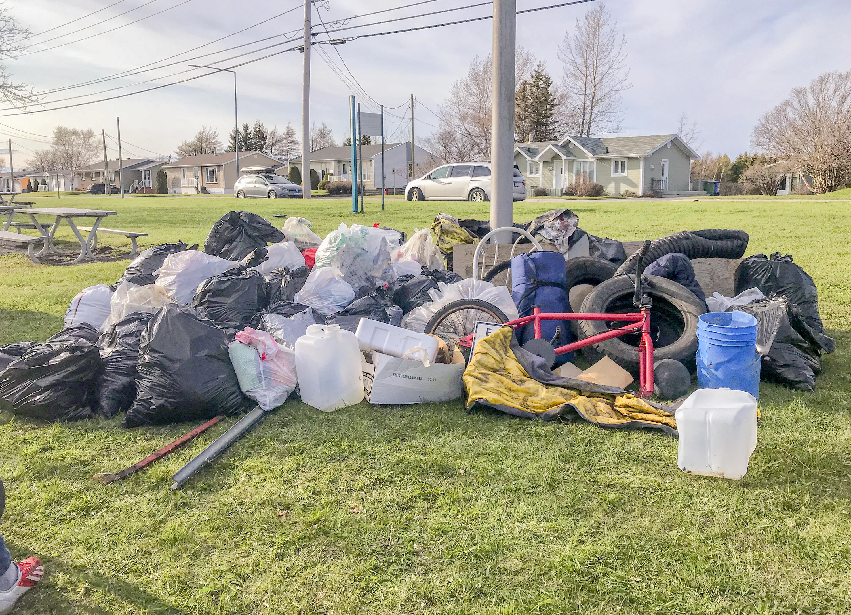 Ramassage déchets polyvalente de Matane