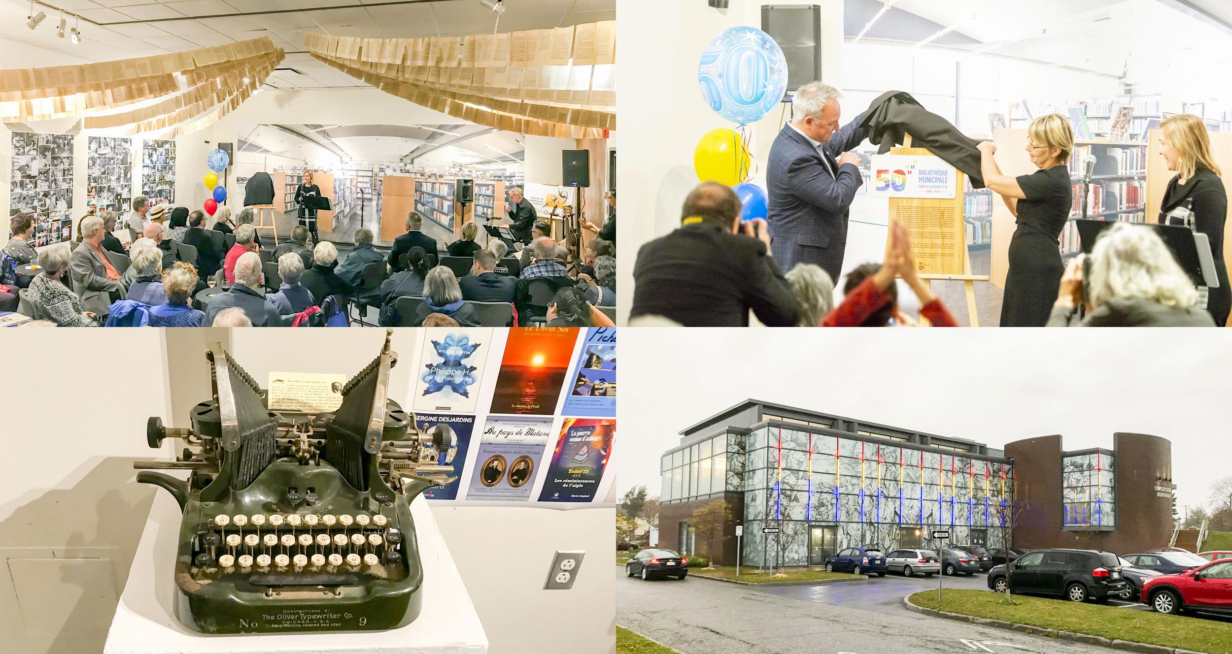 50 ans bibliothèque de Matane