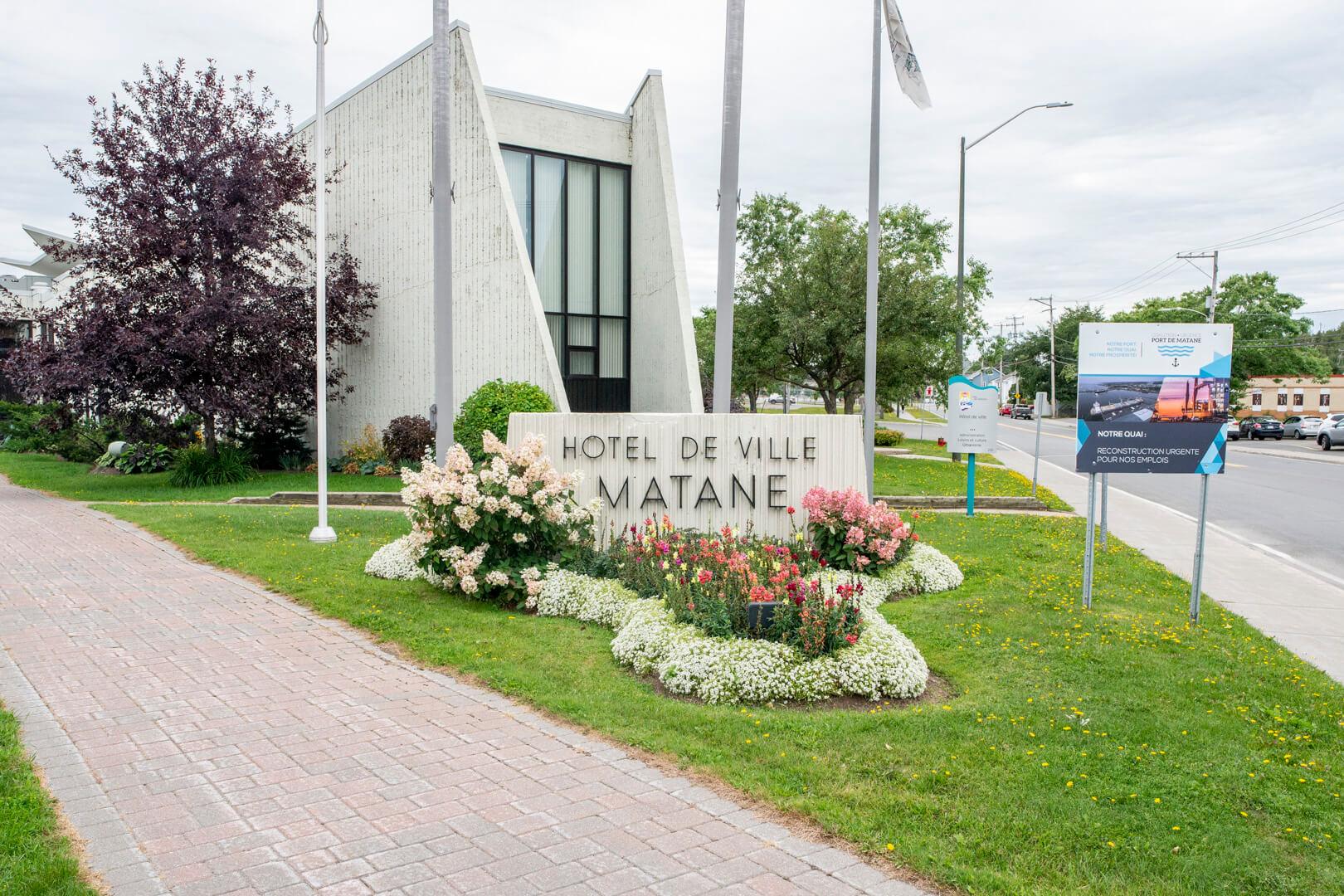 Hôtel de Ville Matane