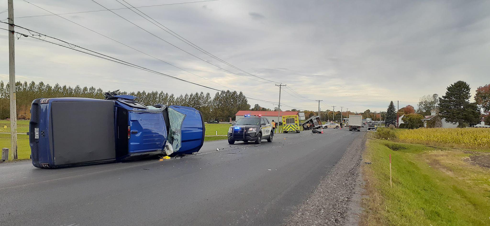 Accident Saint-Esprit
