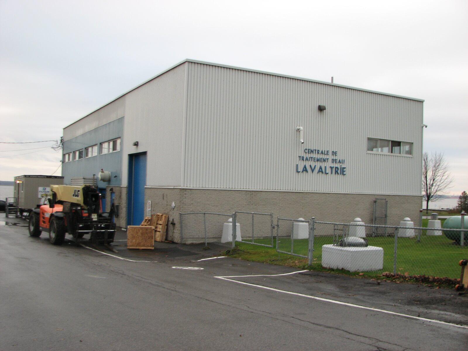 usine de filtration