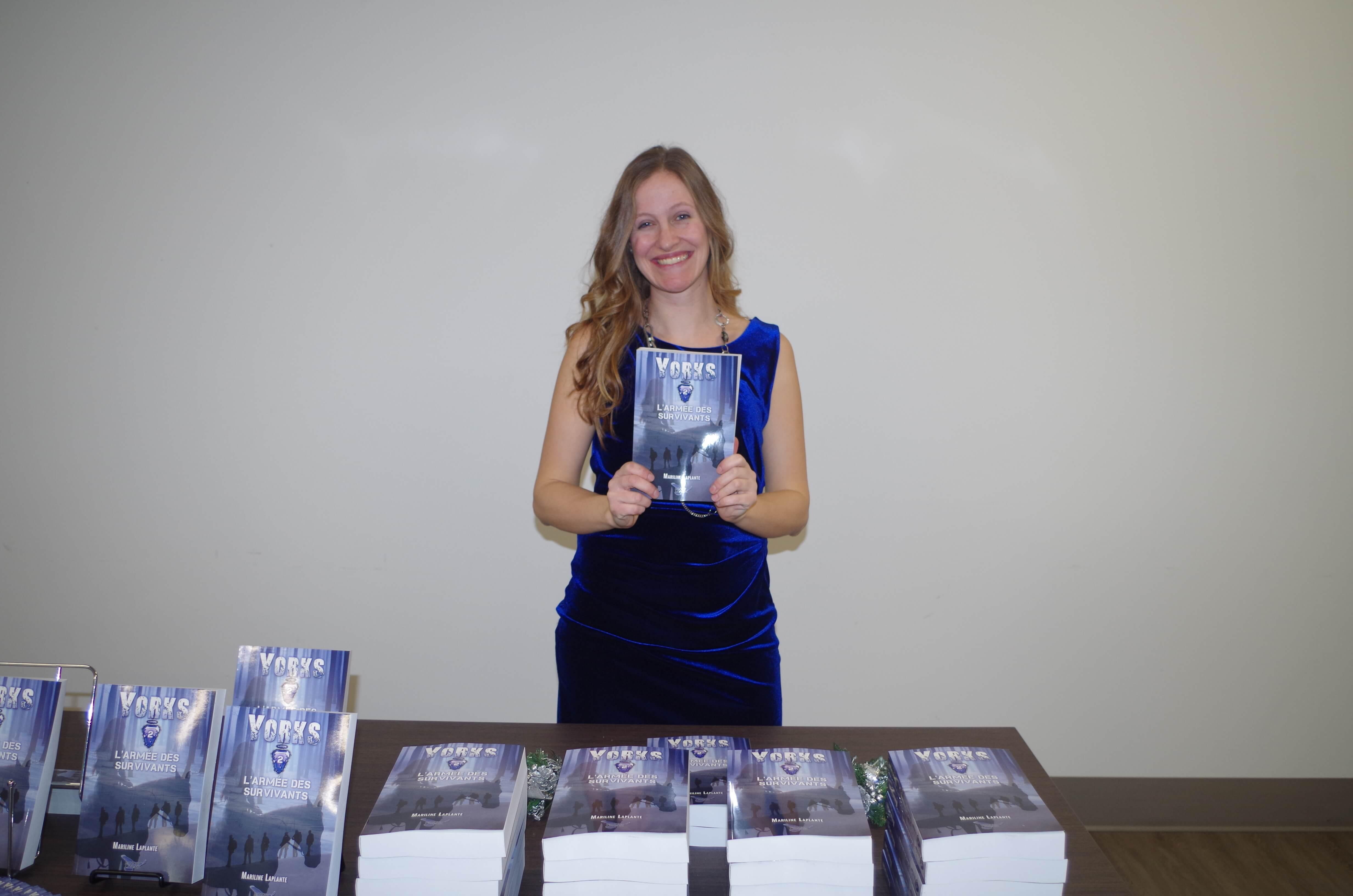Mariline Laplante auteure