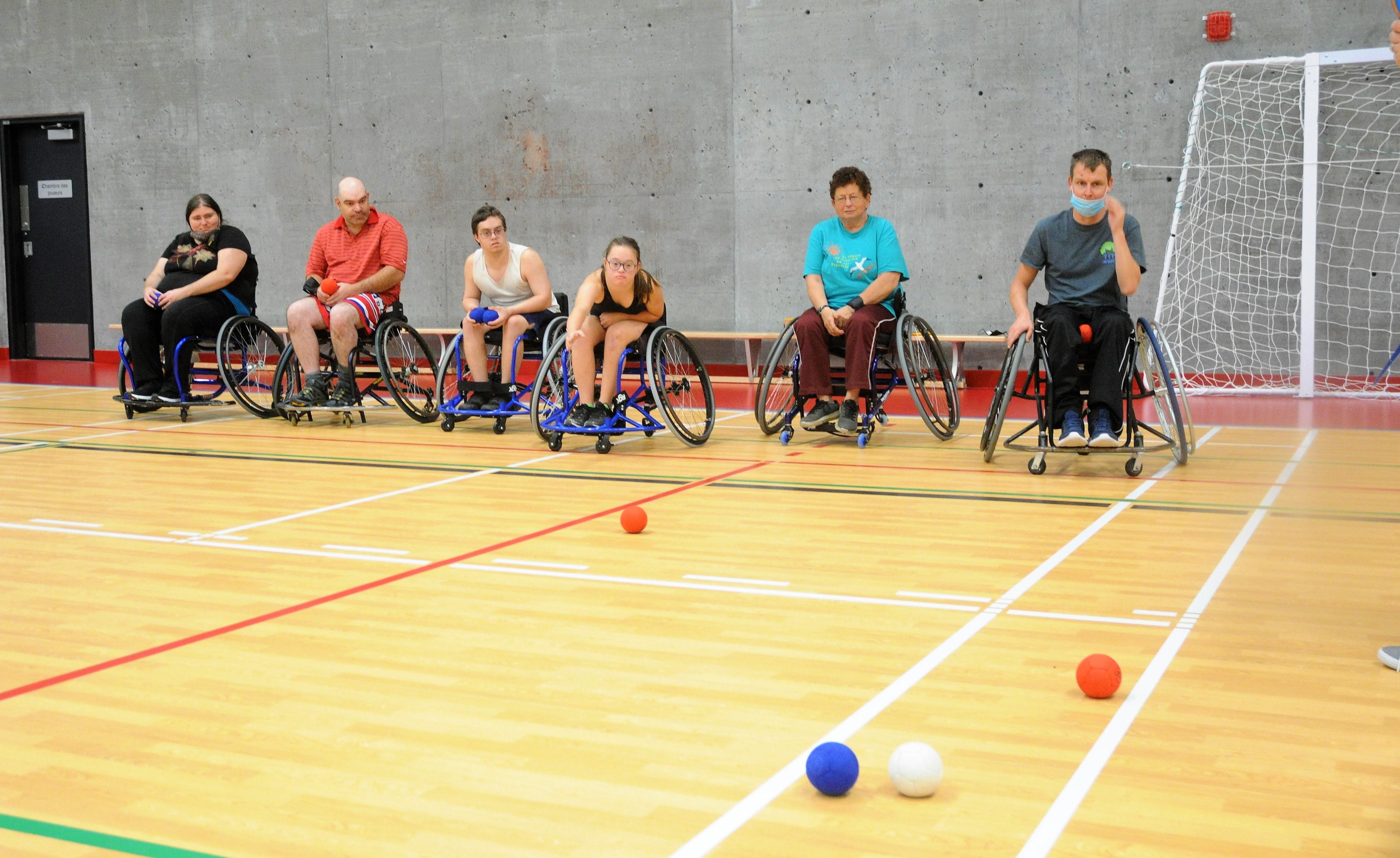 Parasport democratizes at the Fournier multisport Center