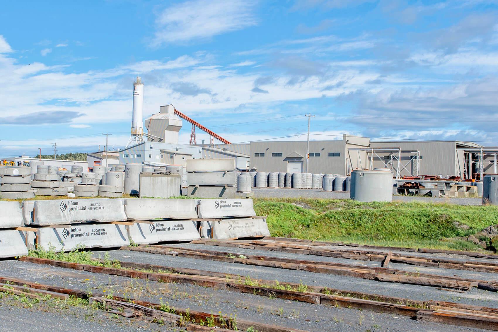Usine Béton Provincial Matane