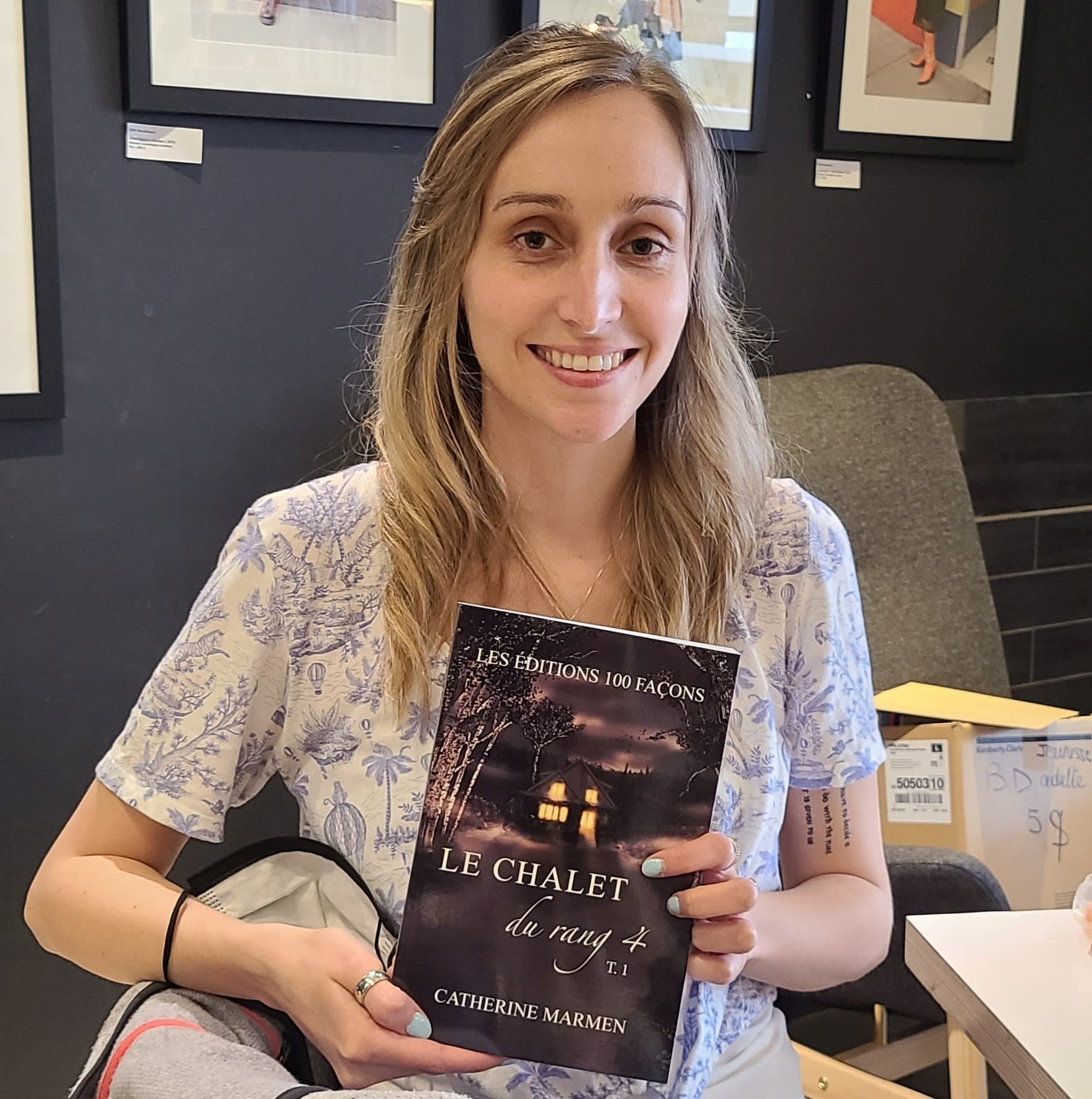L'auteure Catherine Marmen a décidé, en 2020, de se lancer dans une carrière de rédactrice professionnelle et d'écrivaine.