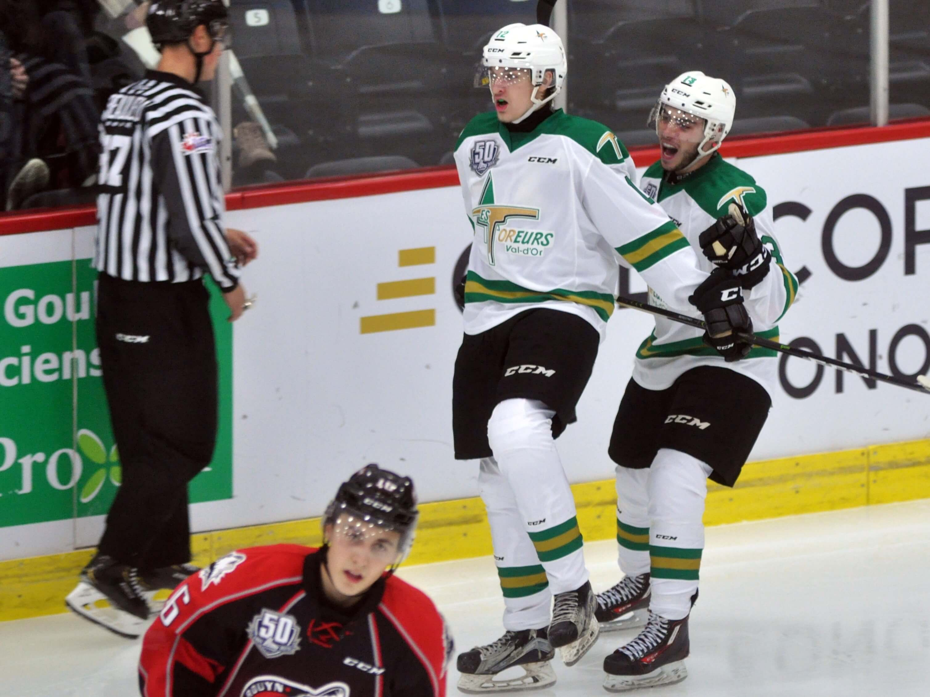 Huskies Rouyn Foreurs Val-d'Or