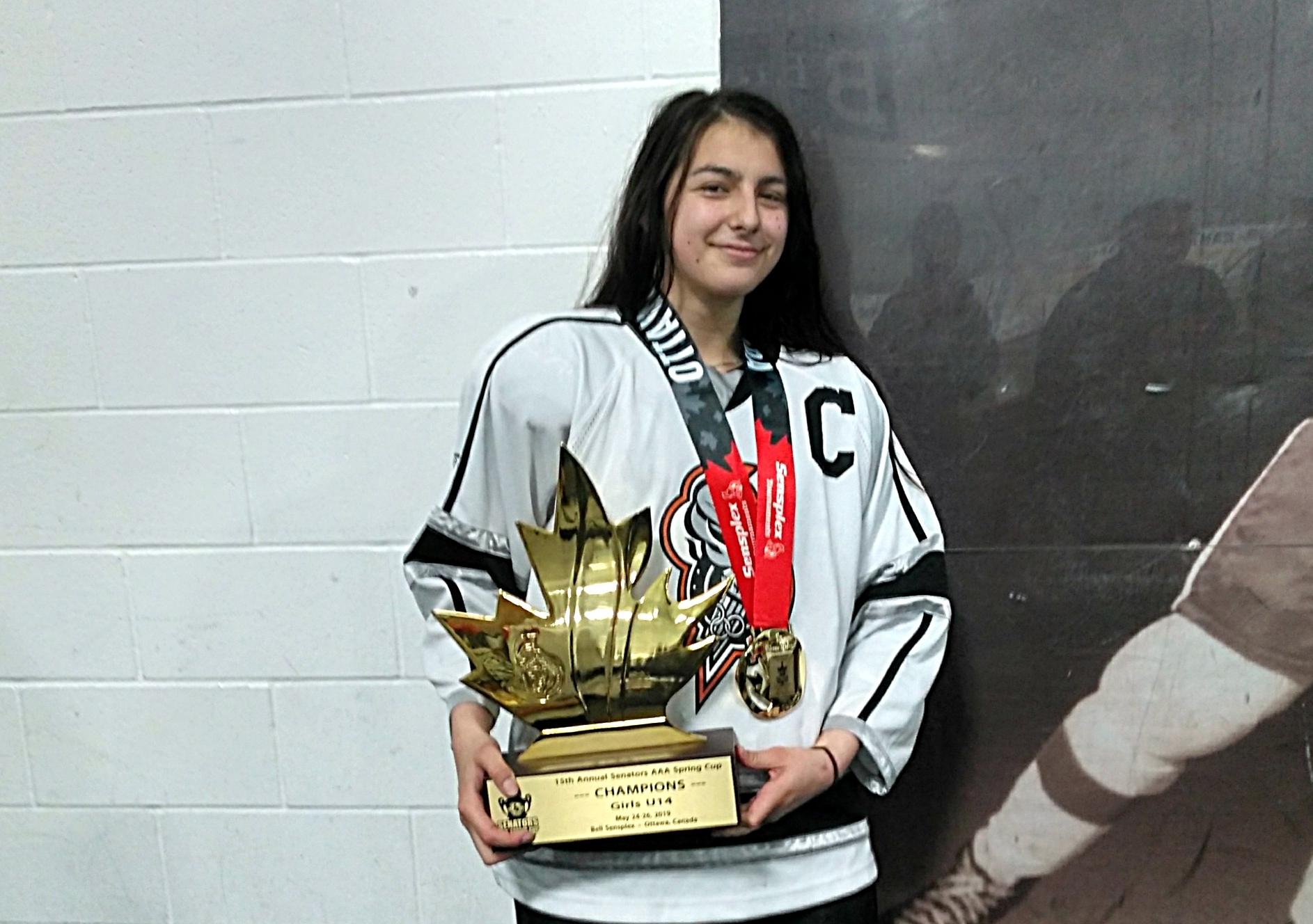 Aylee Charette Olympiques U14
