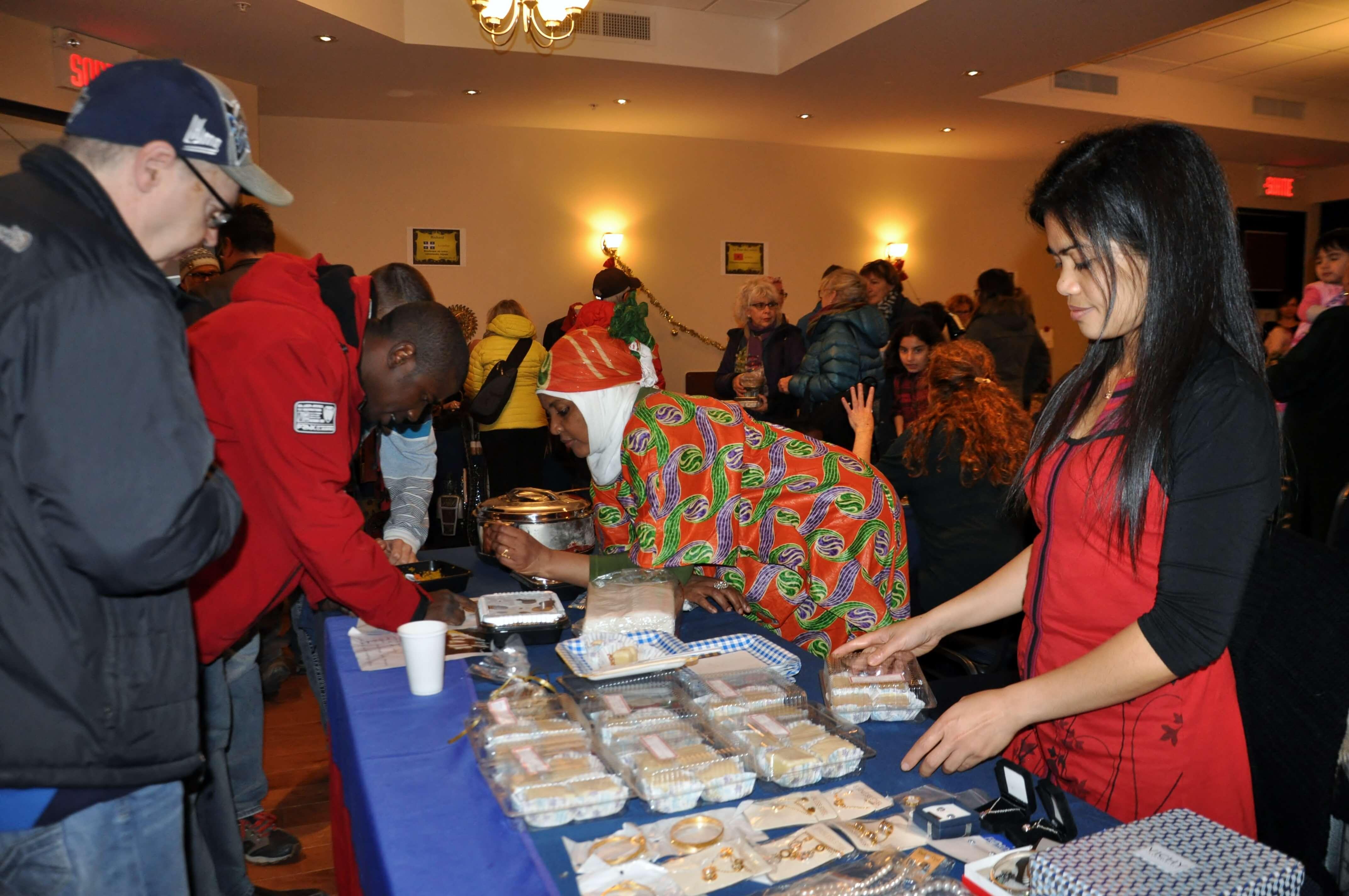Le Marché interculturel de Noël lors d'une année précédente.