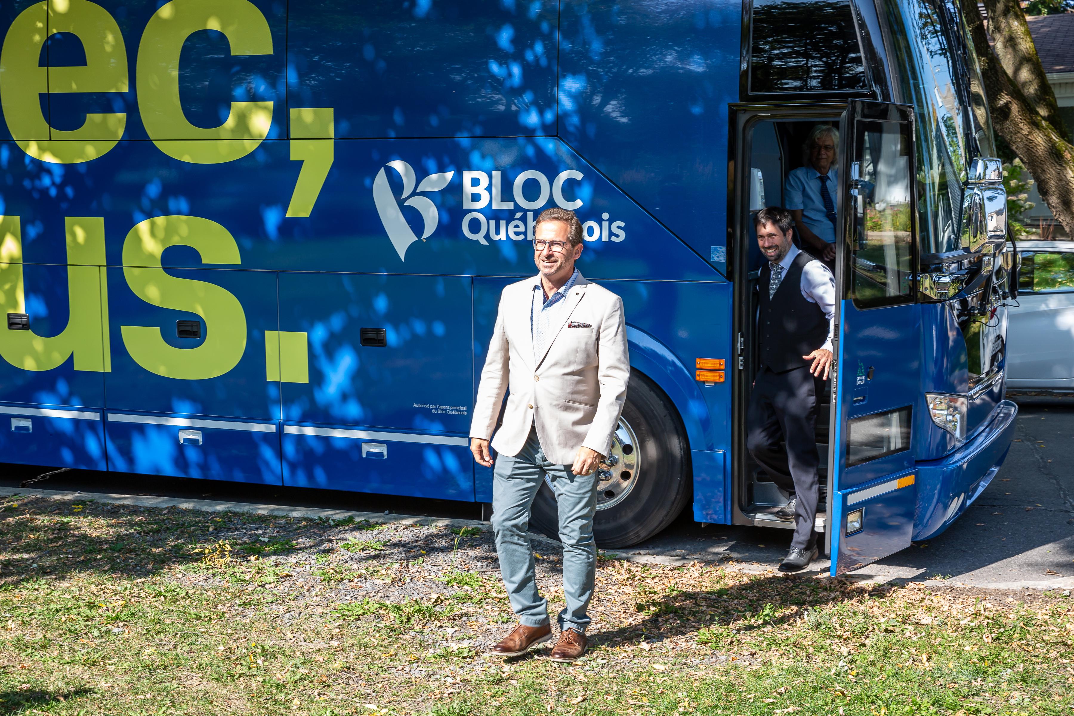 Chef du Bloc Québécois