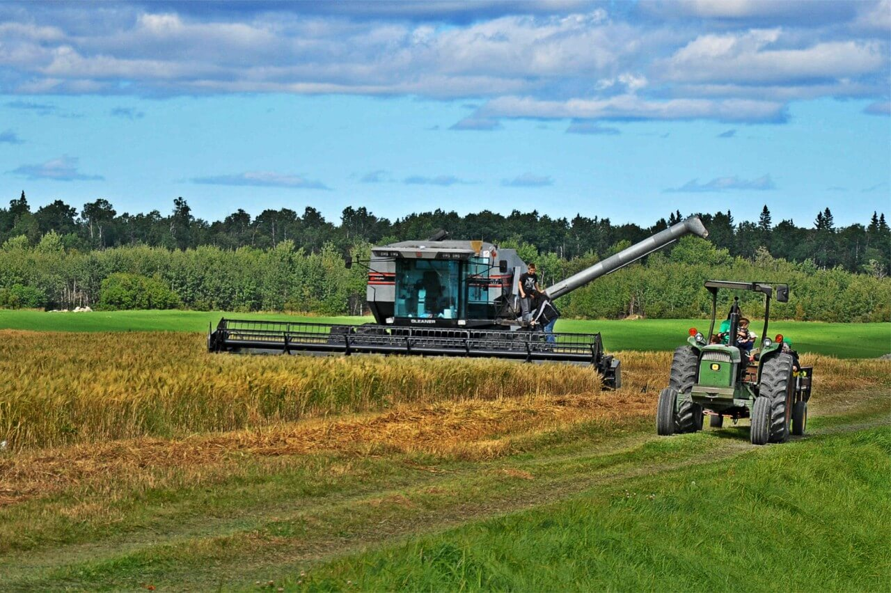 Agriculture moisson