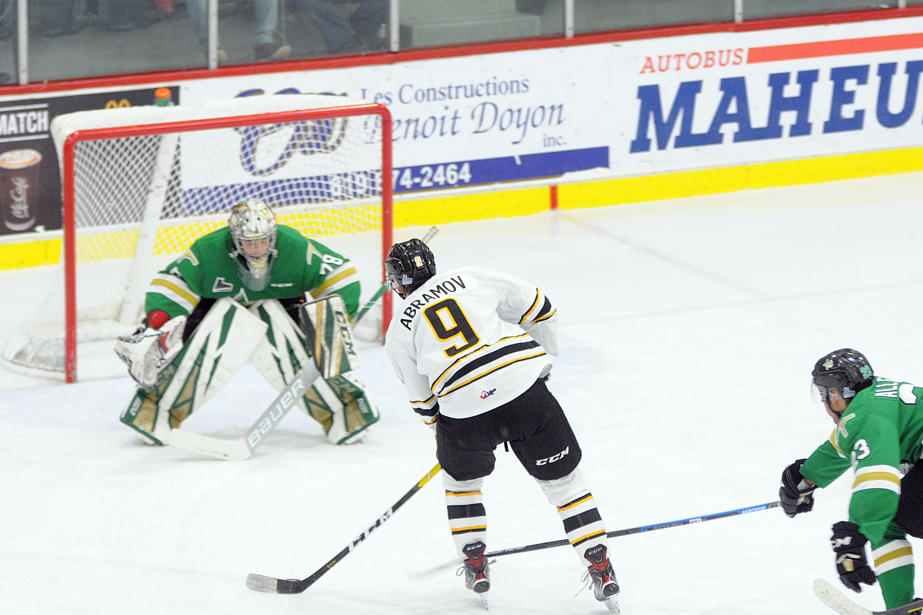 Foreurs Val-d'Or - Tigres Victoriaville