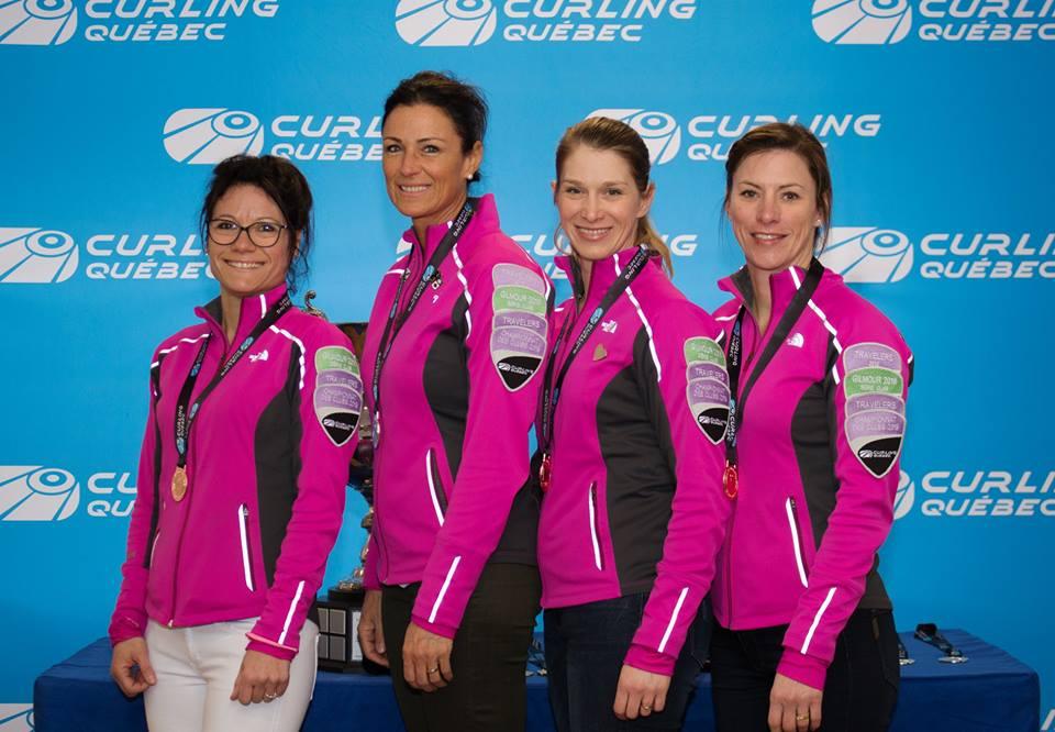 Curling - Équipe Hains