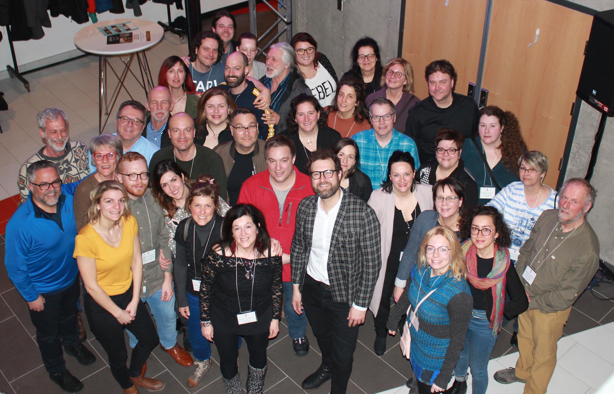 Membres diffuseurs présents à la Rencontre du printemps 2019!