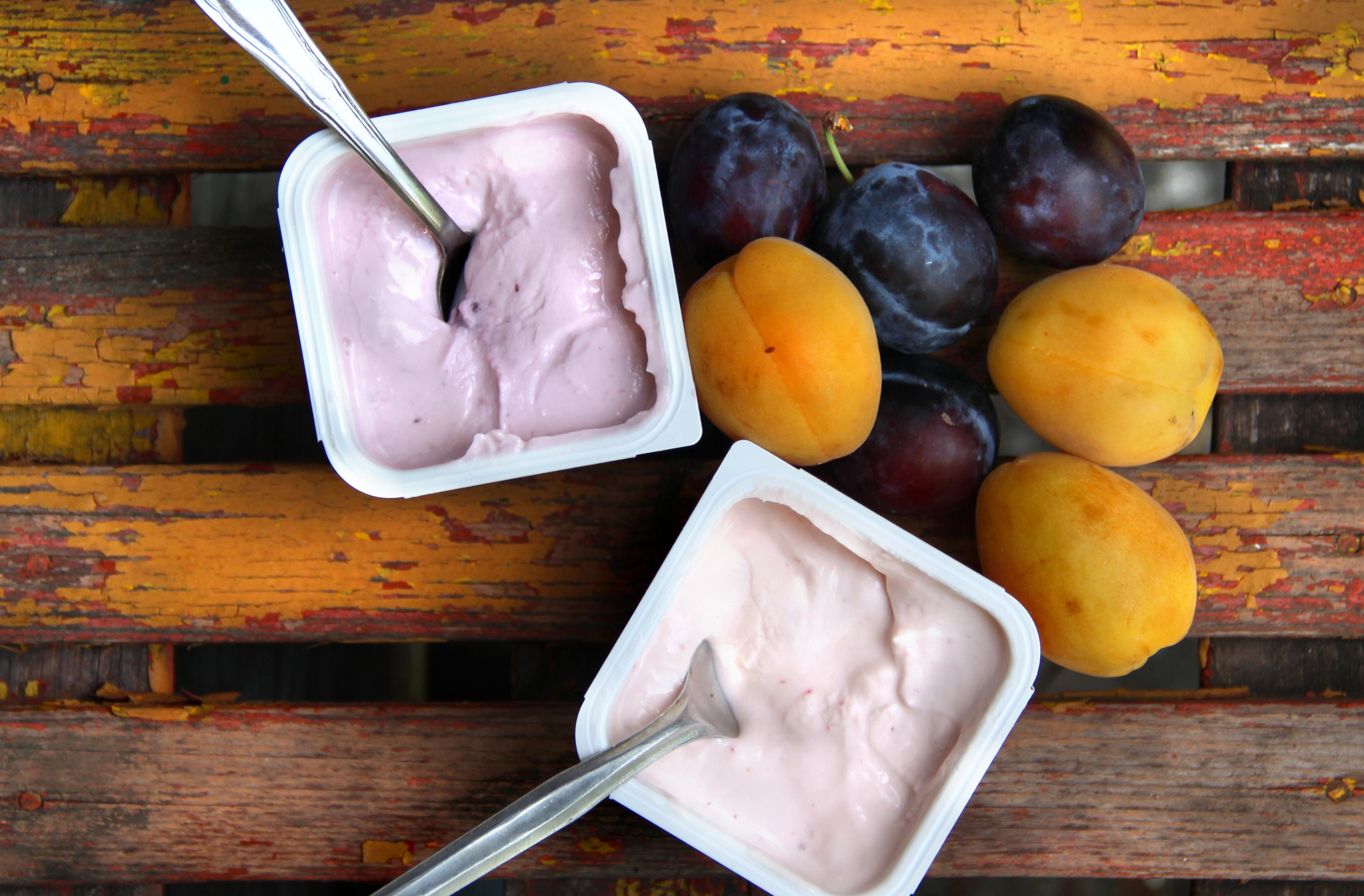 Yogourt prune abricot