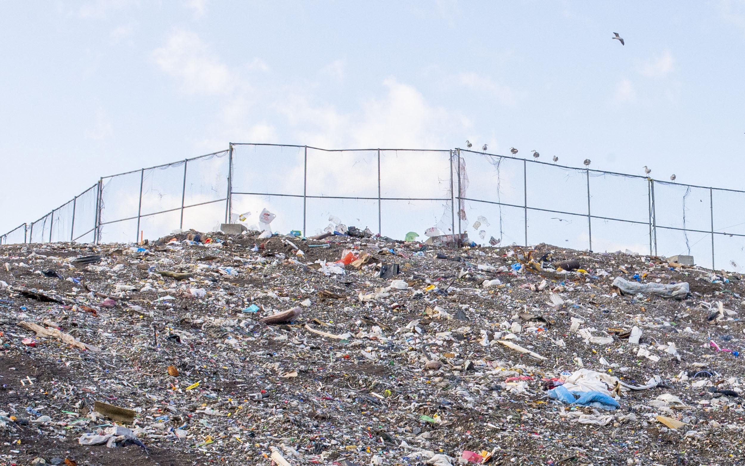 Lieu d'enfouissement technique Matane déchets décharge