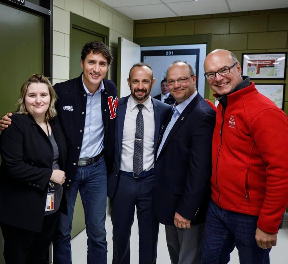 Trudeau à MOnt-Joli