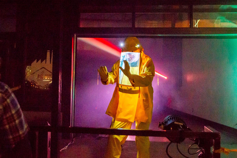 Effroyable soirée Matane Halloween 2018 déguisements comité centre-ville Matane éclaté