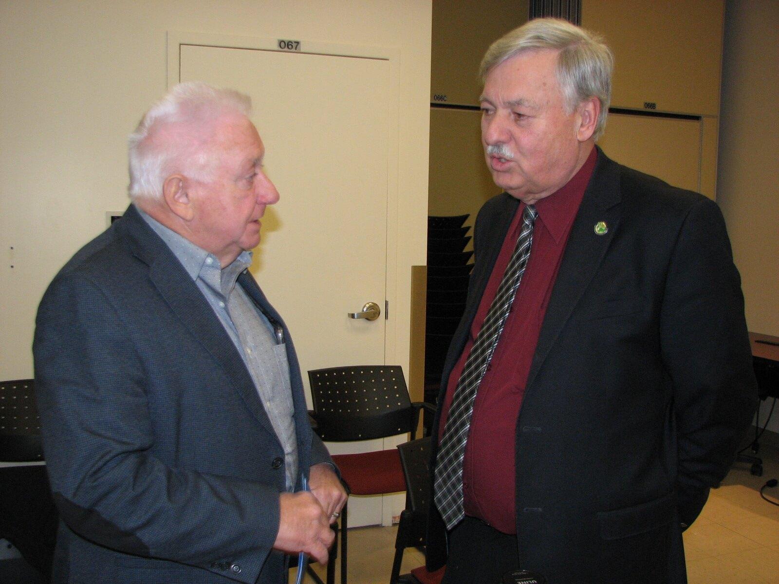 maire et président CS