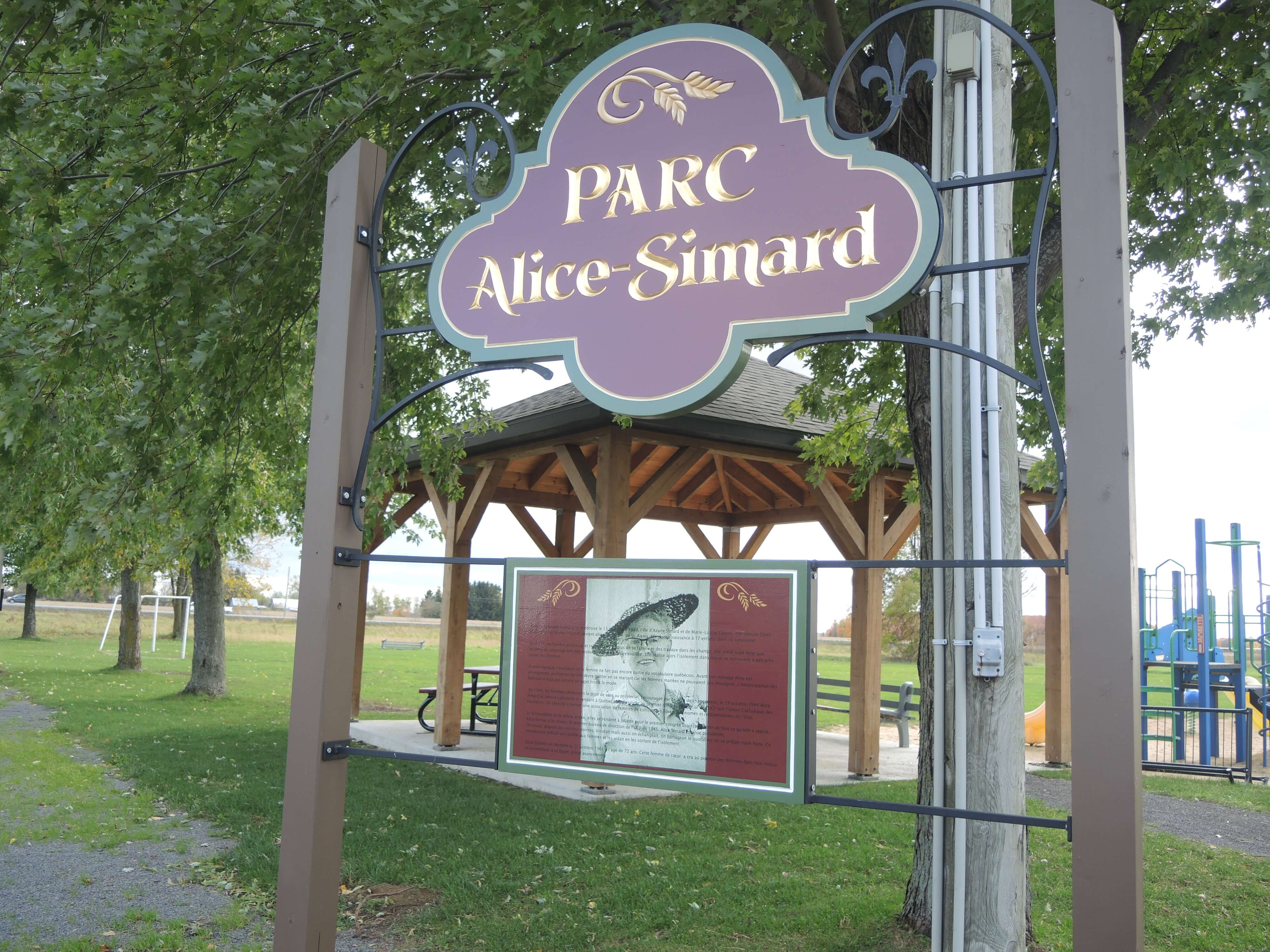 Réaménagement du Parc Alice-Simard