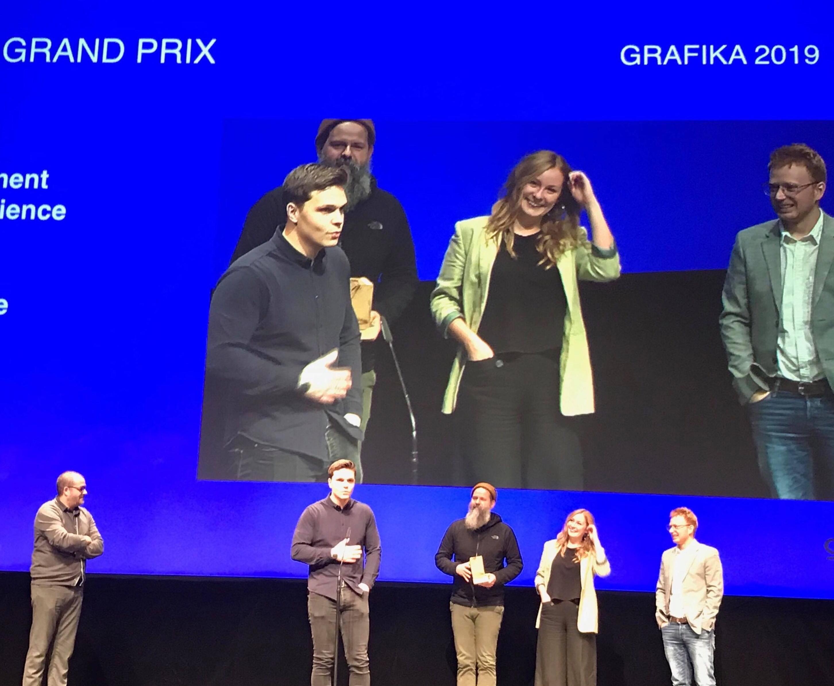 prix grafika 2019 - entreprise Fragment