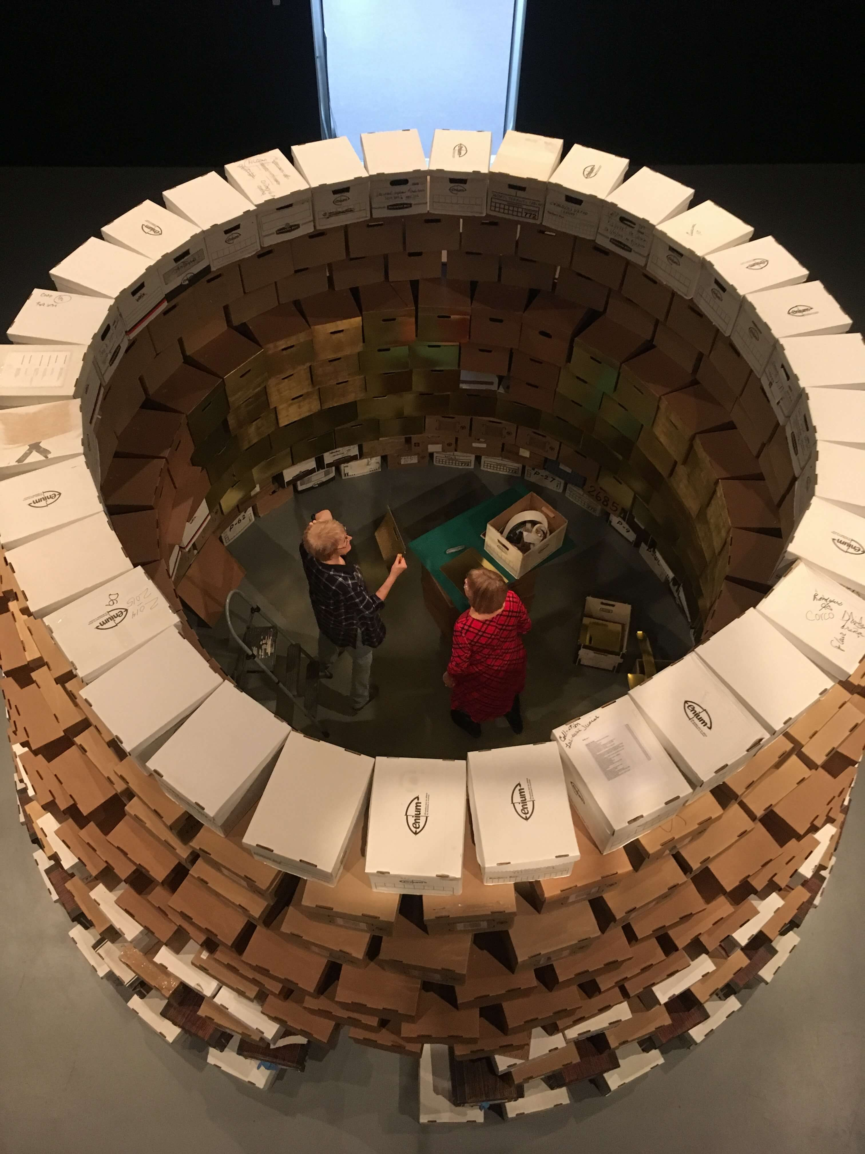 La voute Musee d'art Rouyn-Noranda