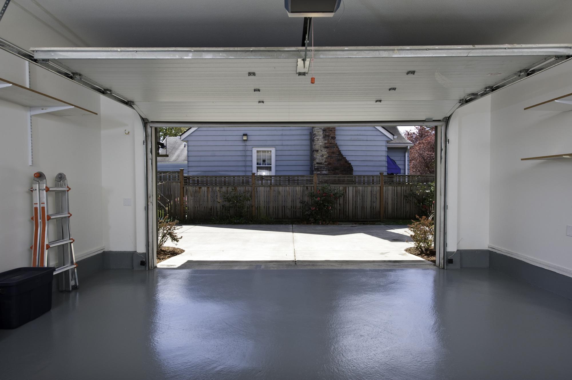 plancher garage